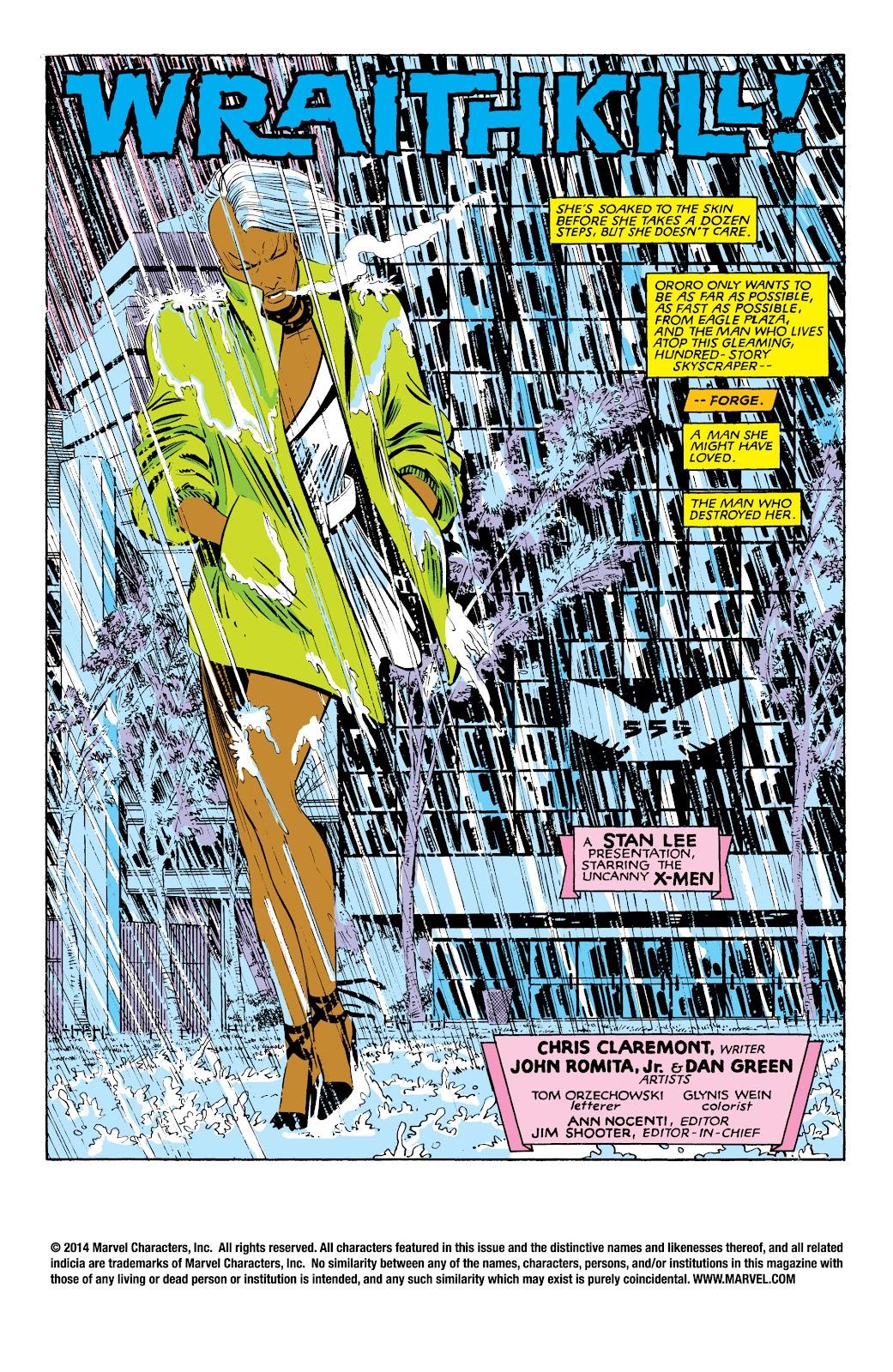 Uncanny X-Men (1963) issue 187 - Page 2