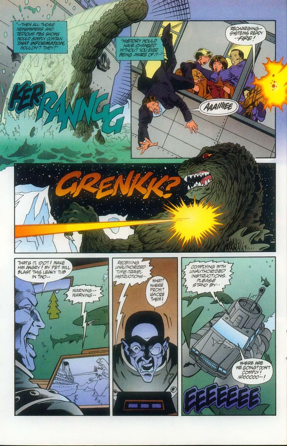 Godzilla (1995) Issue #11 #12 - English 13
