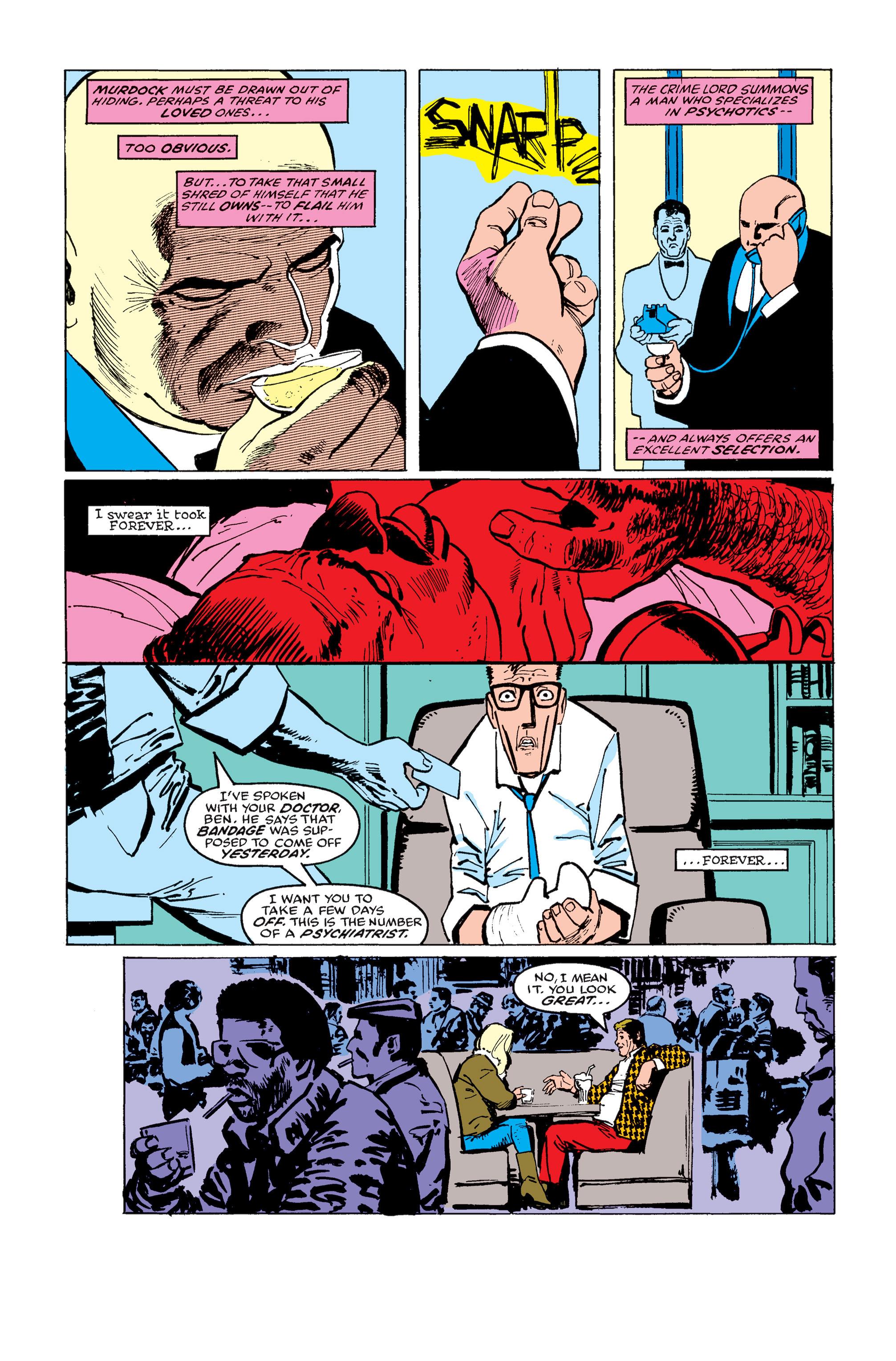 Read online Daredevil: Born Again comic -  Issue # Full - 115