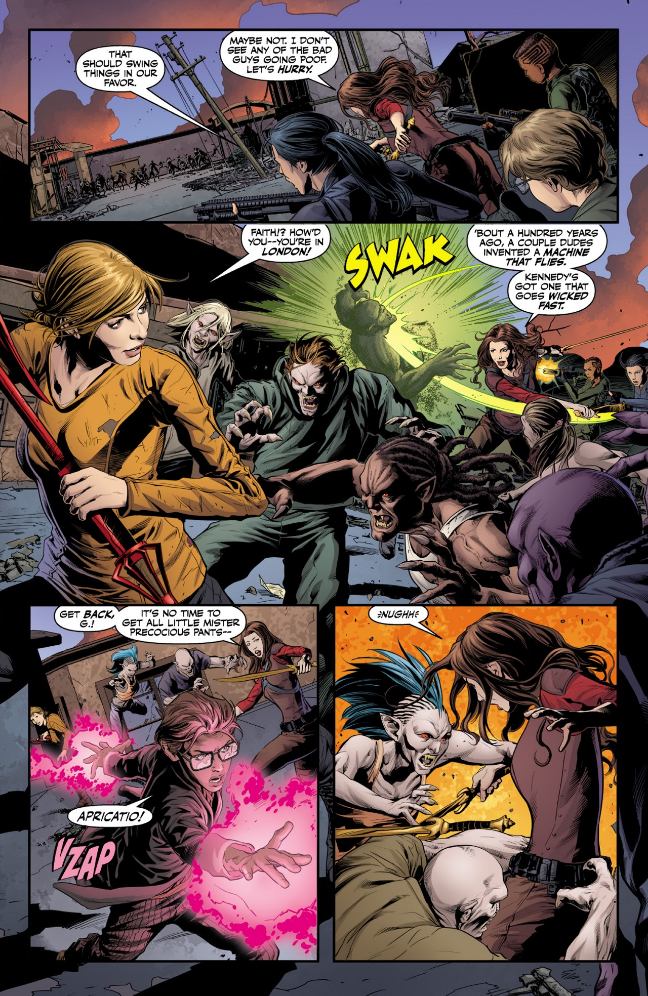 Read online Angel & Faith Season 10 comic -  Issue #1 - 17