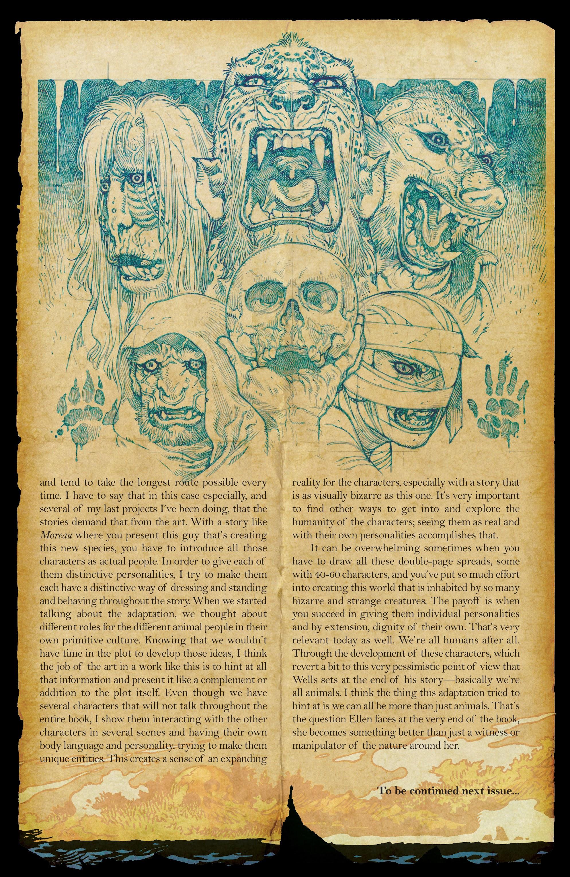 The Island of Dr. Moreau #1 #1 - English 20