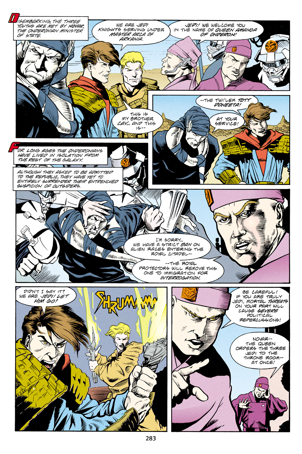 Read online Star Wars Omnibus comic -  Issue # Vol. 4 - 272
