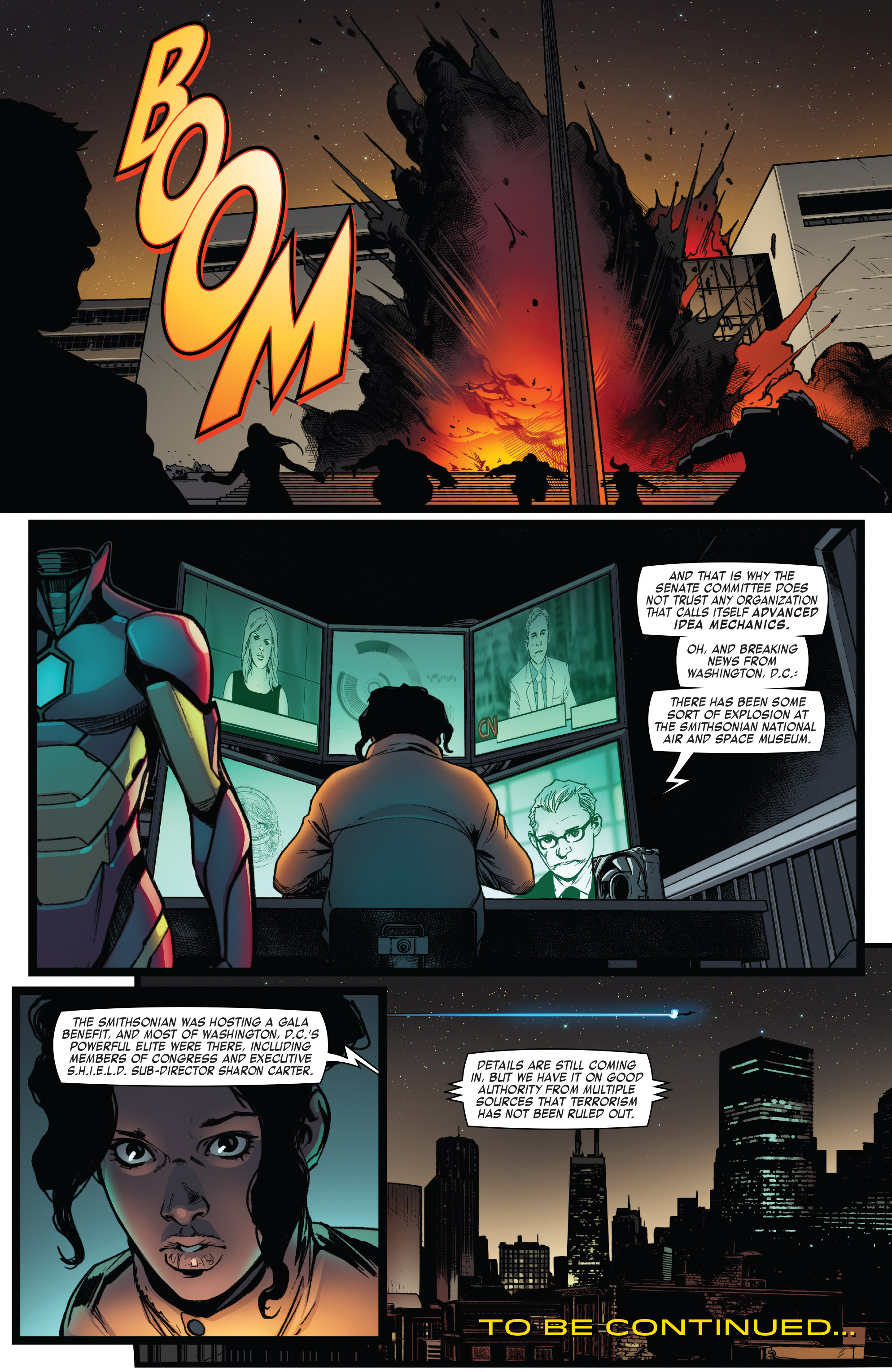 Read online Invincible Iron Man (2016) comic -  Issue #7 - 21