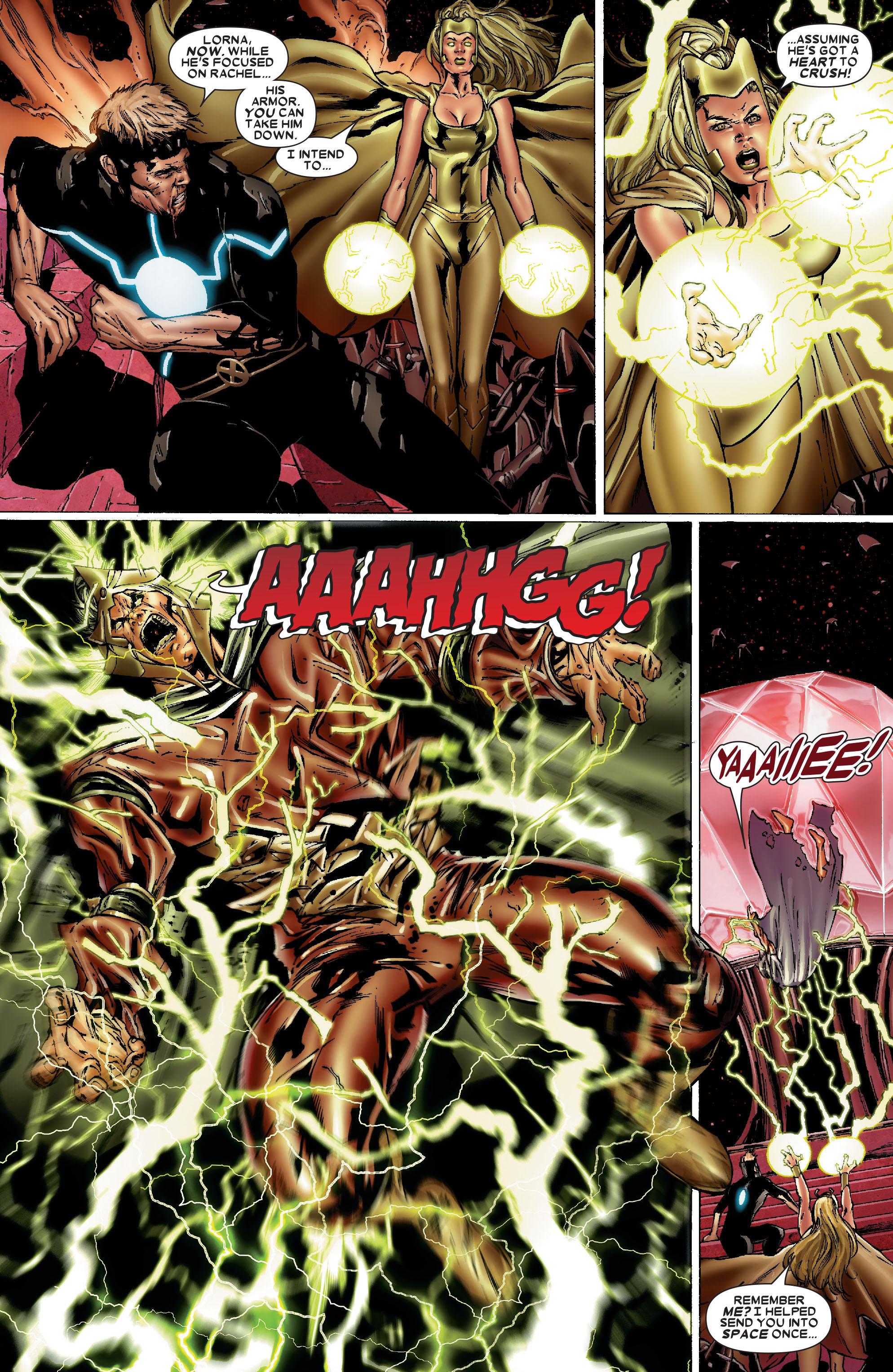Read online Uncanny X-Men (1963) comic -  Issue #486 - 11