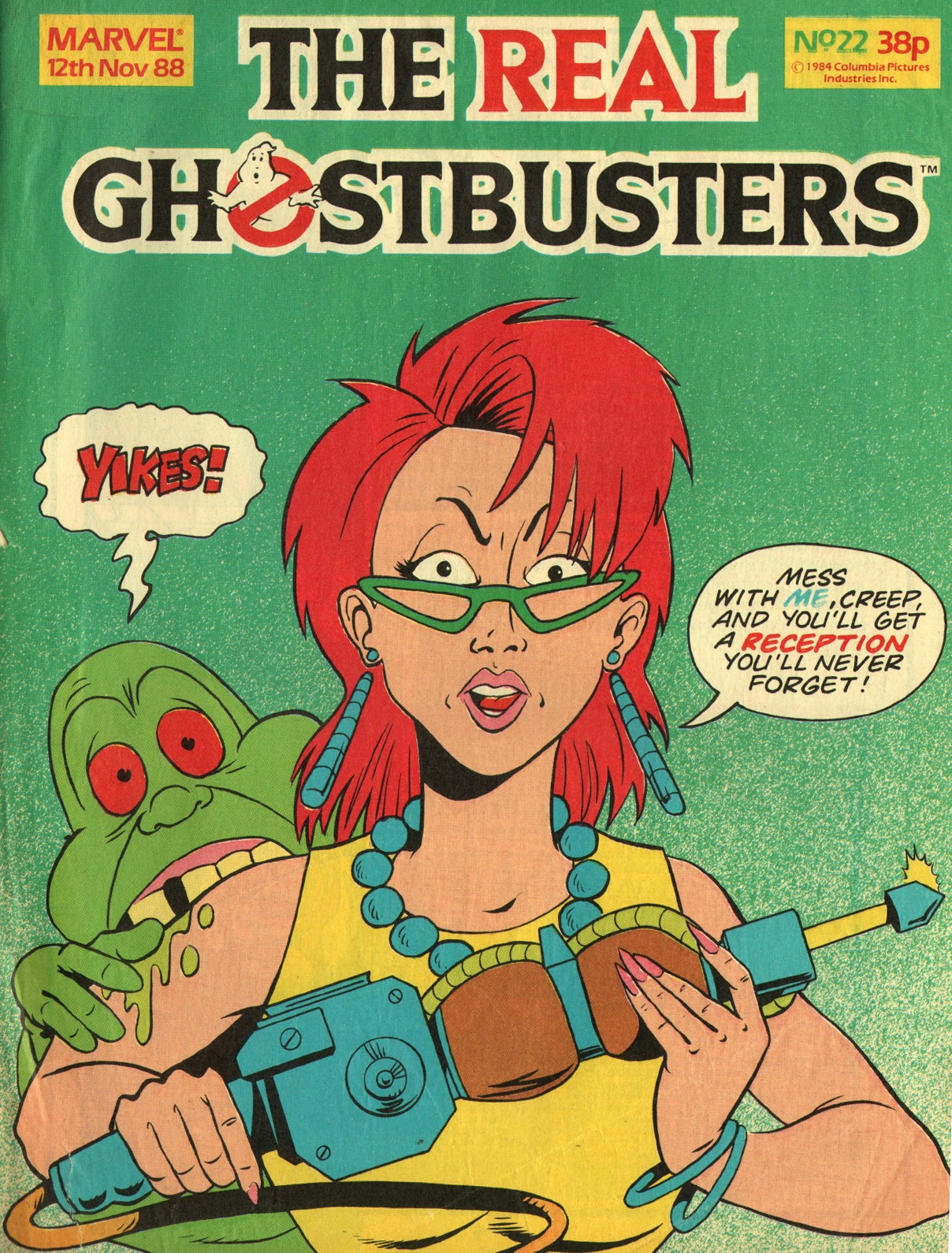 The Real Ghostbusters 22 Page 1