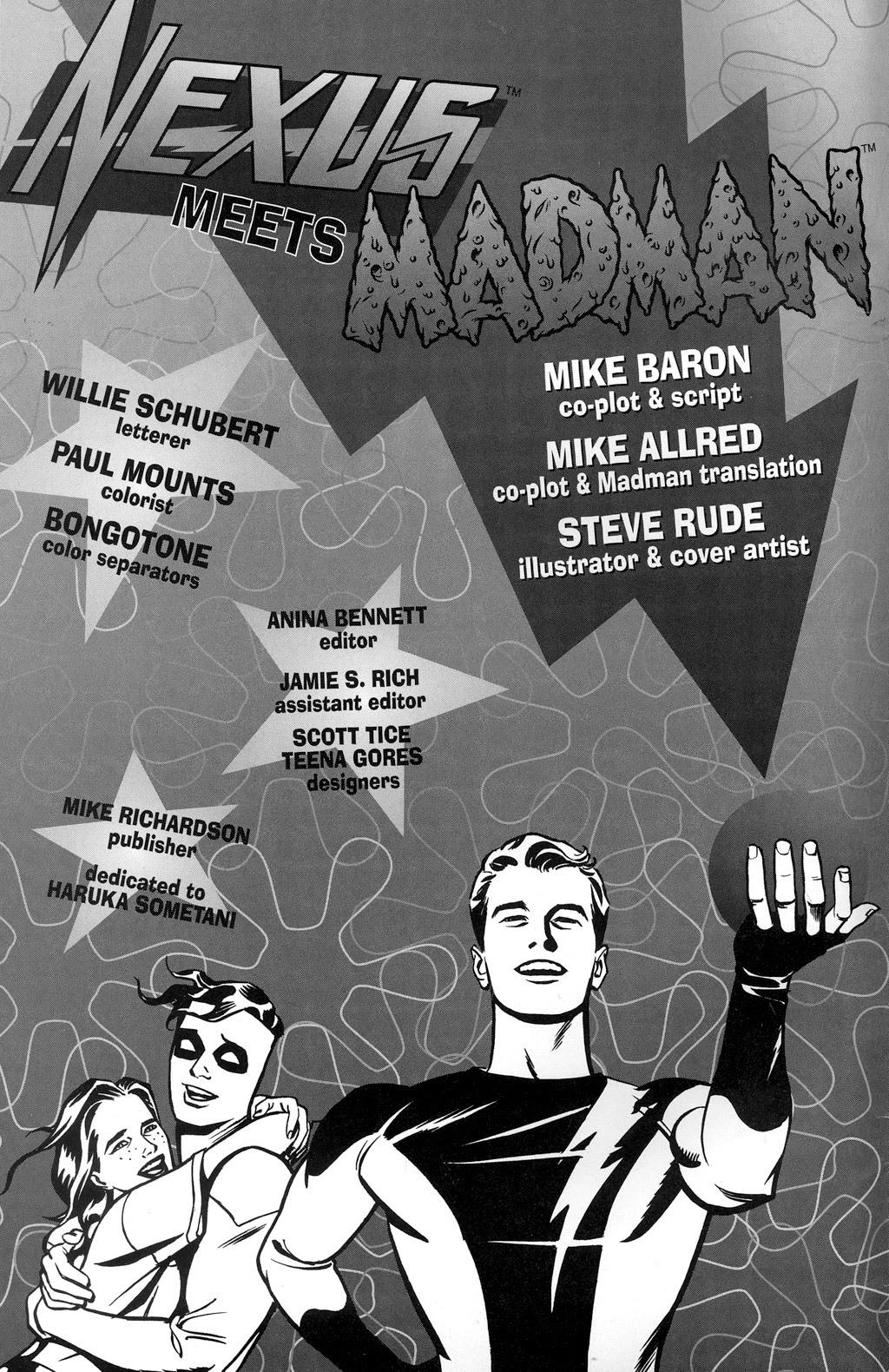 Read online Nexus Meets Madman comic -  Issue # Full - 2