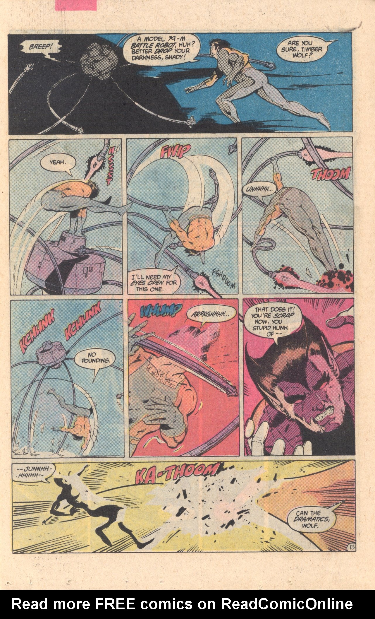 Legion of Super-Heroes (1980) 304 Page 13