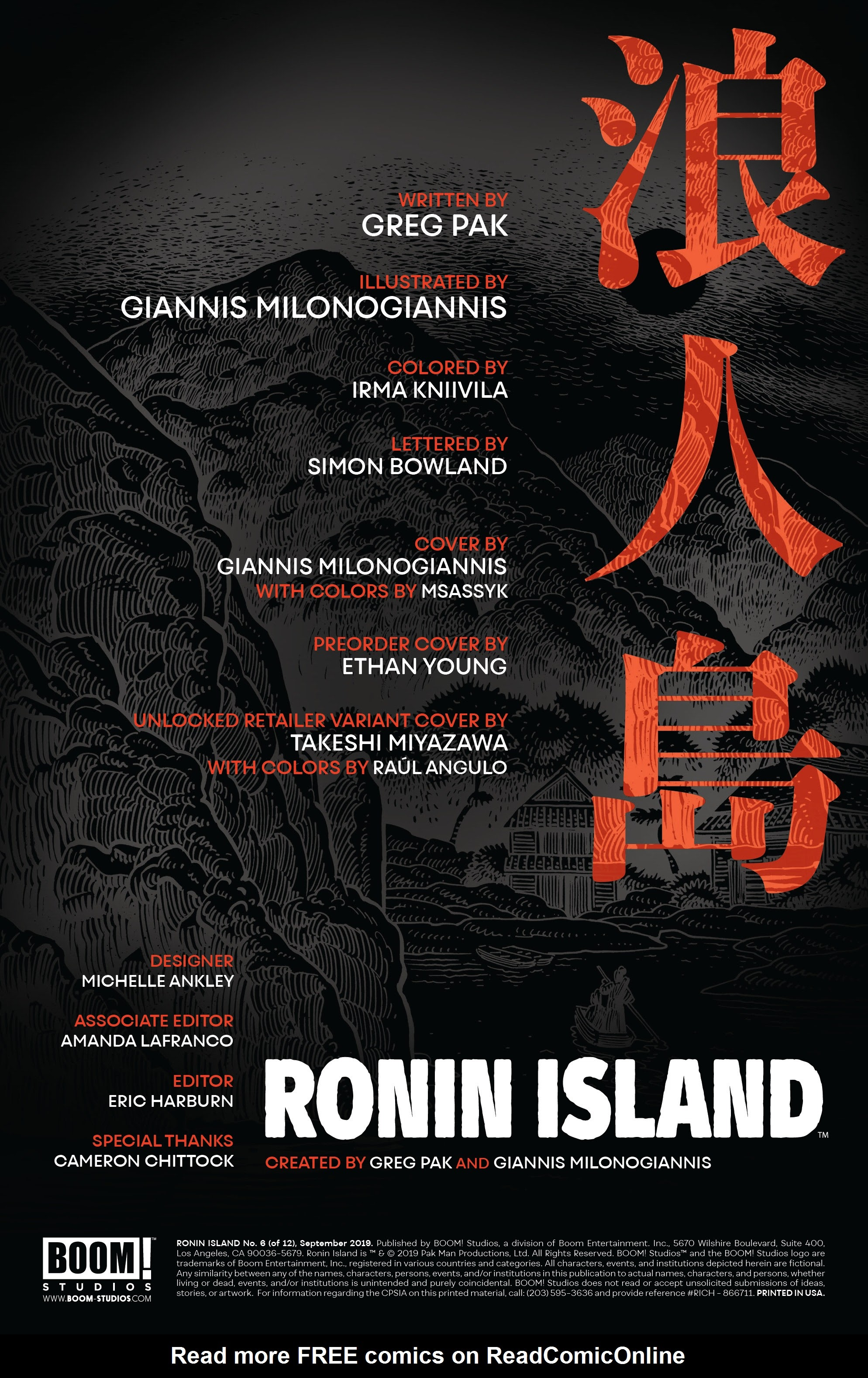 Read online Ronin Island comic -  Issue #6 - 2