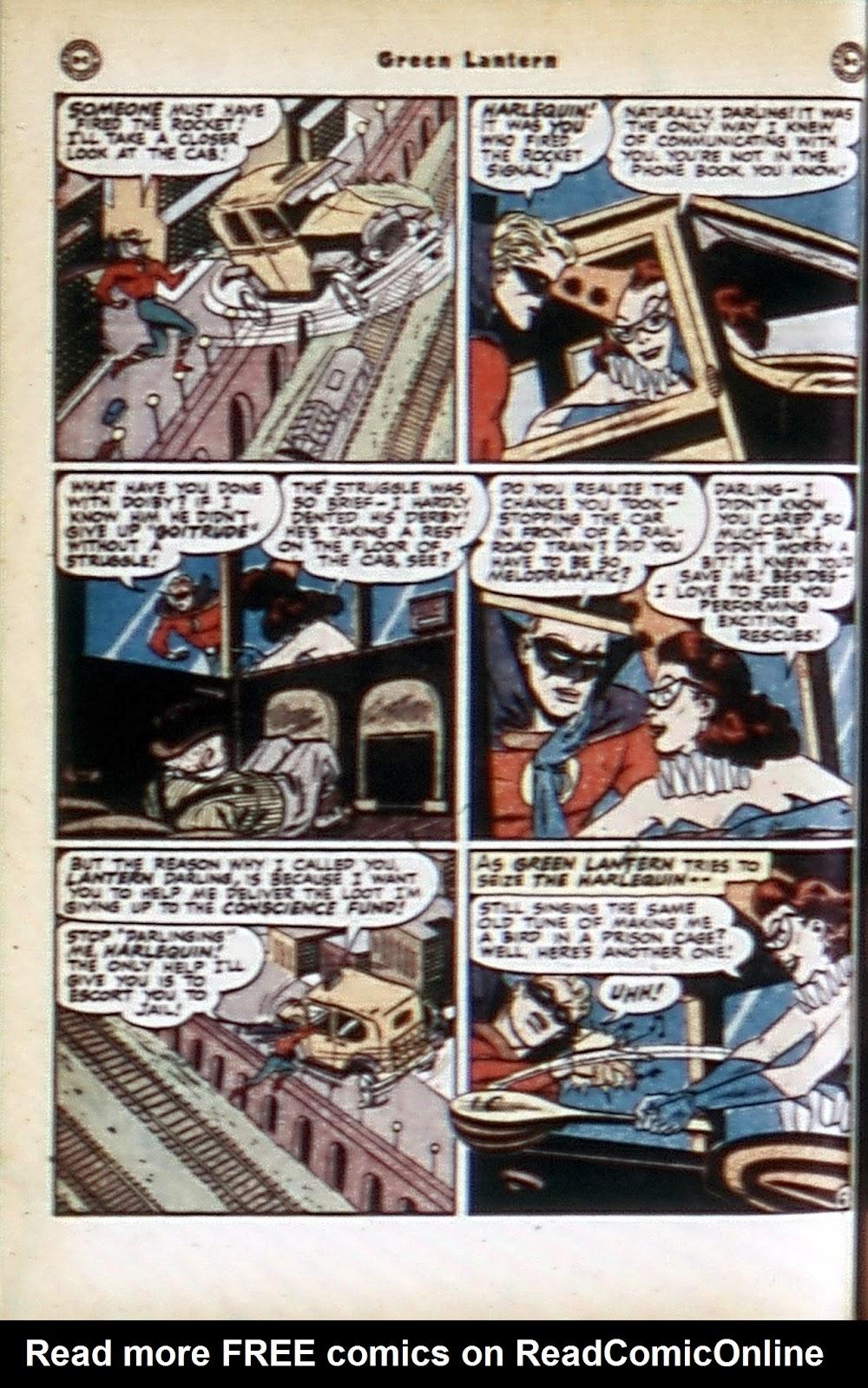 Green Lantern (1941) Issue #32 #32 - English 22