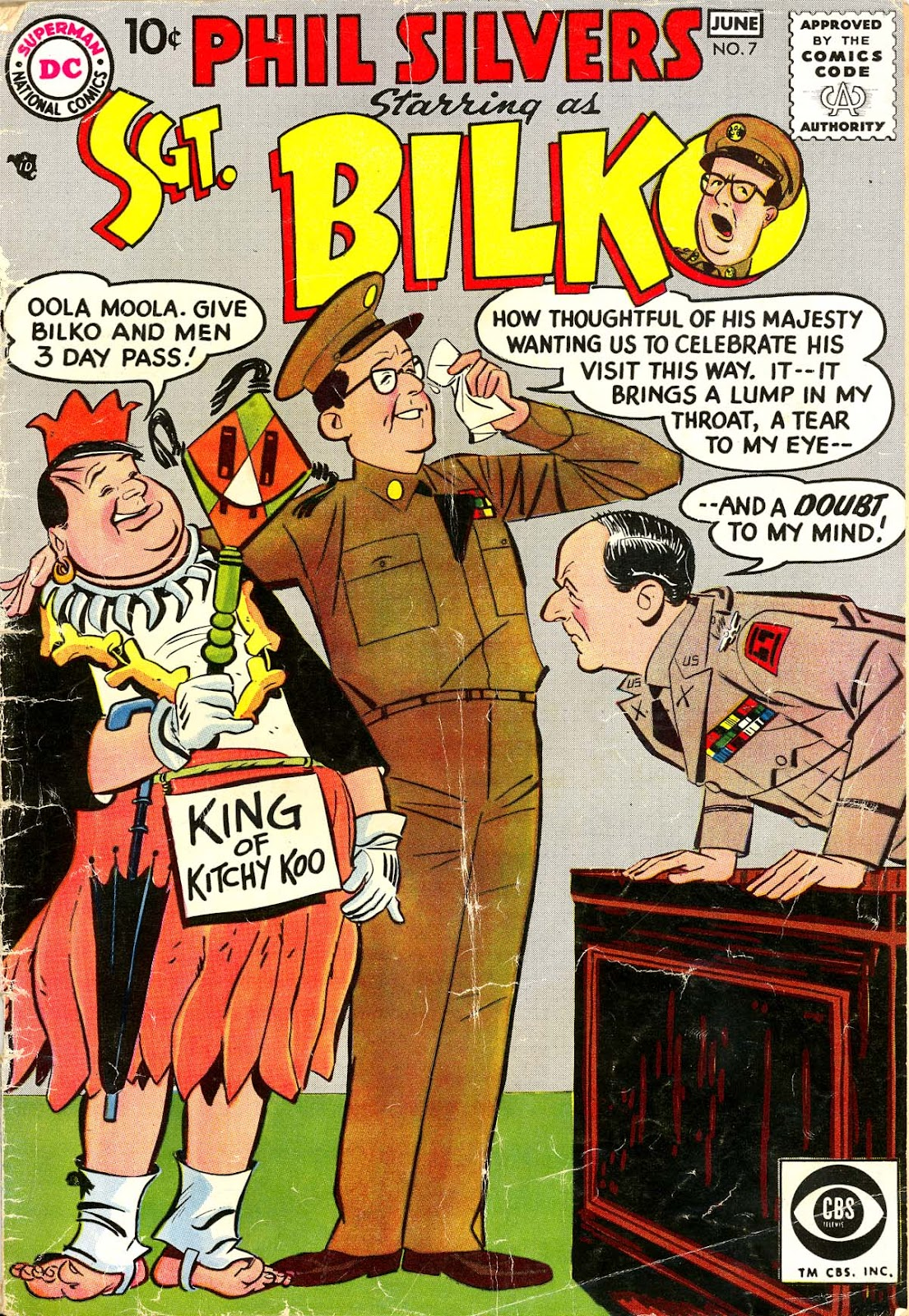 Sergeant Bilko issue 7 - Page 1