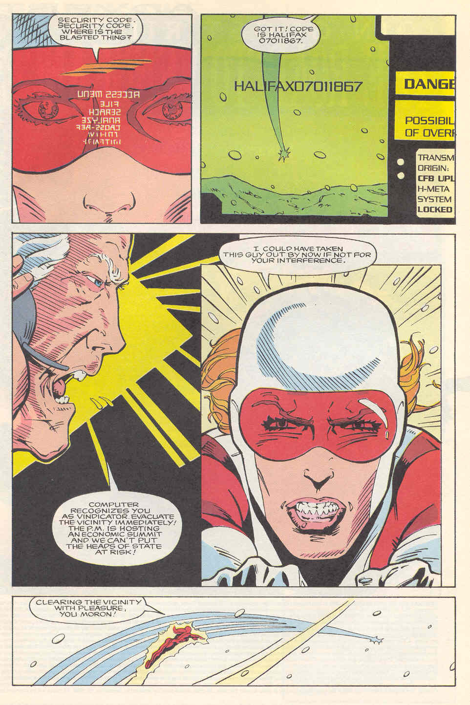 Read online Alpha Flight (1983) comic -  Issue #113 - 17