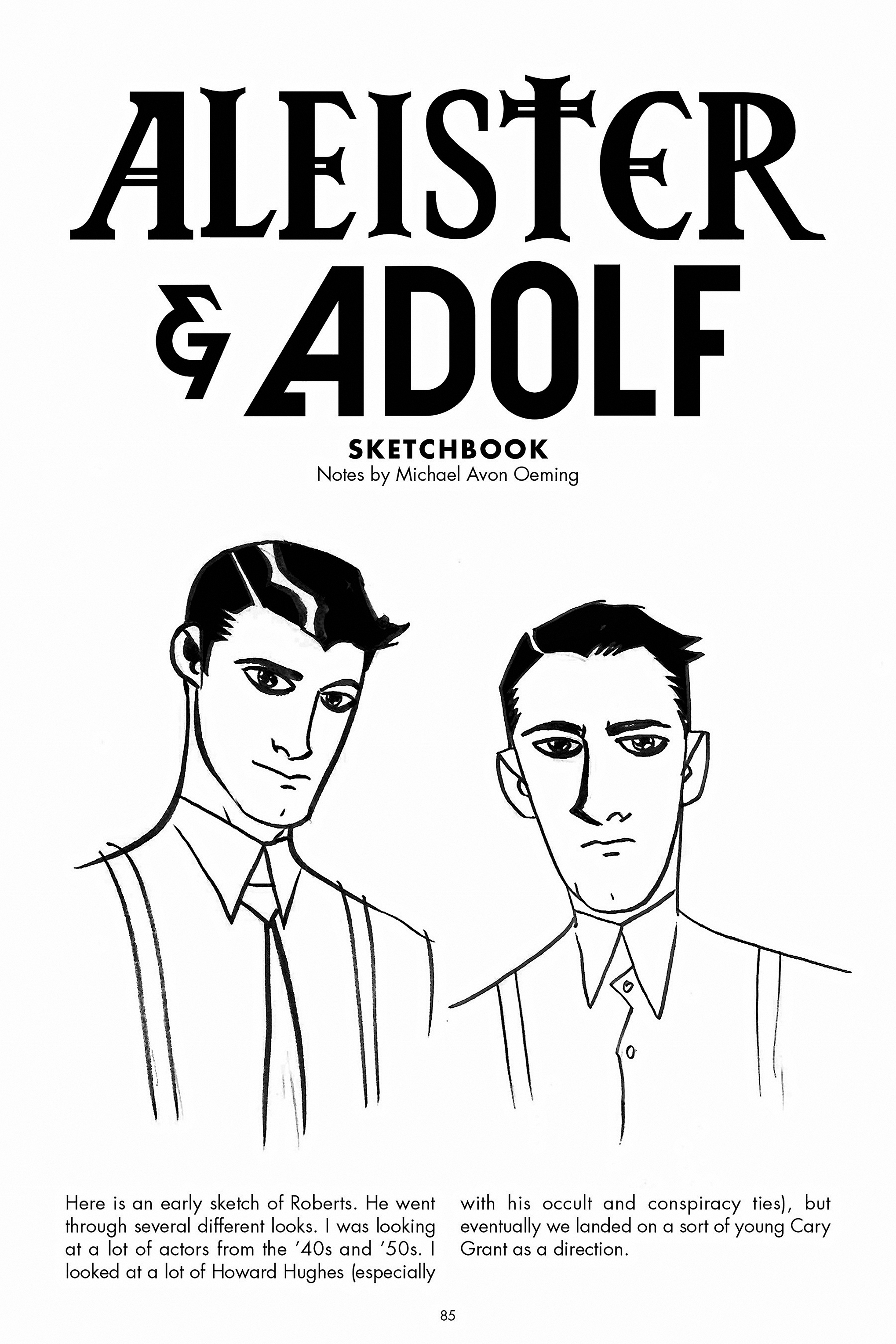 Read online Aleister & Adolf comic -  Issue # TPB - 81