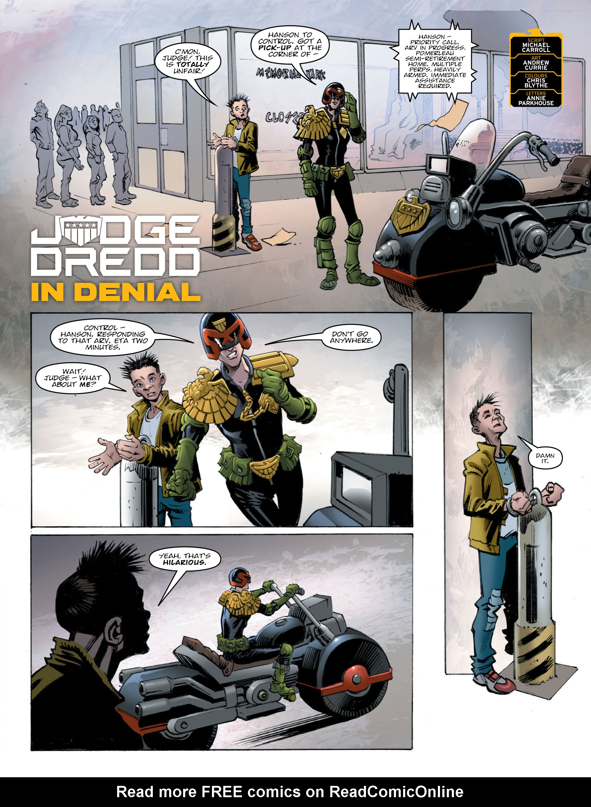 Read online 2000 AD comic -  Issue #2010 - 2