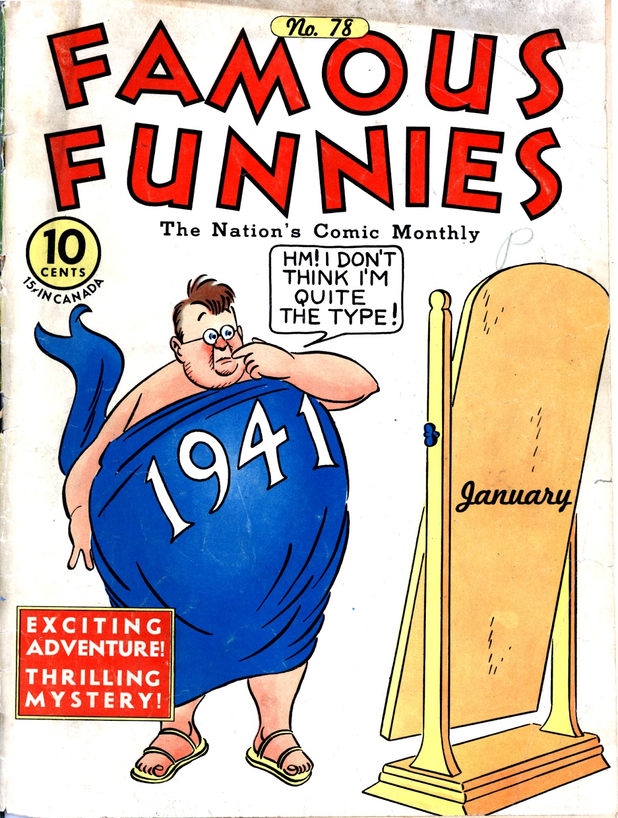 Read online Famous Funnies comic -  Issue #78 - 1