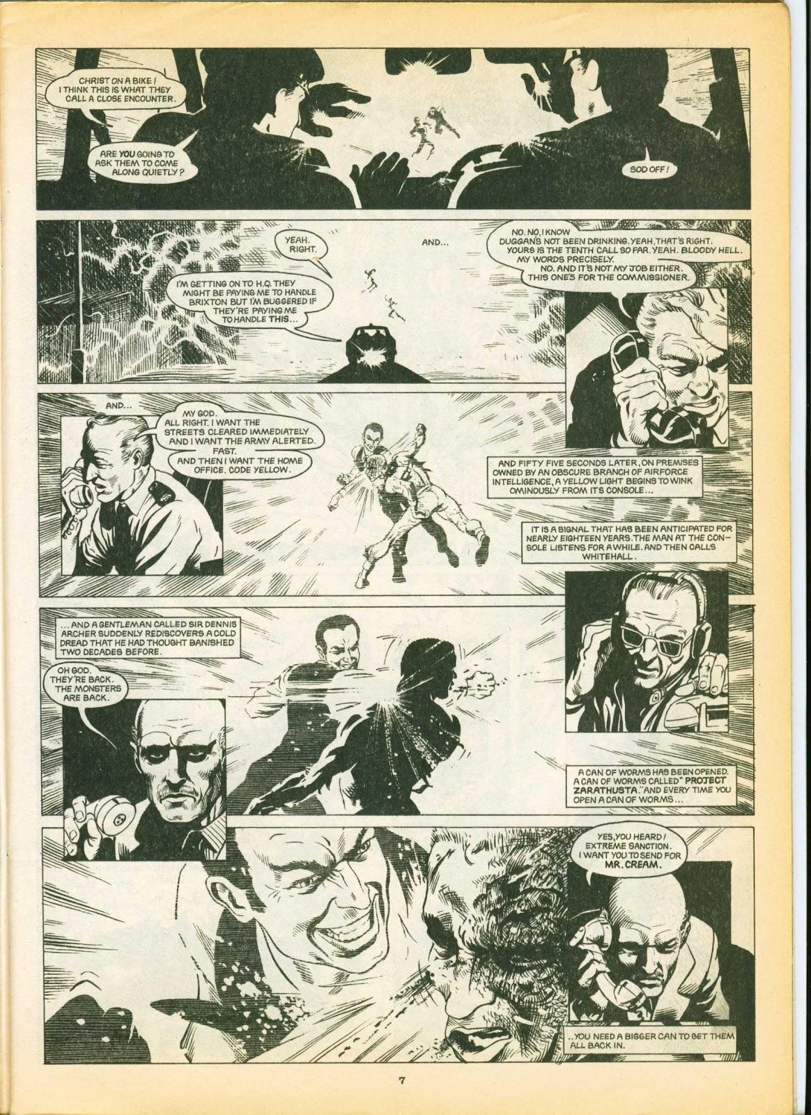 Warrior Issue #6 #7 - English 7
