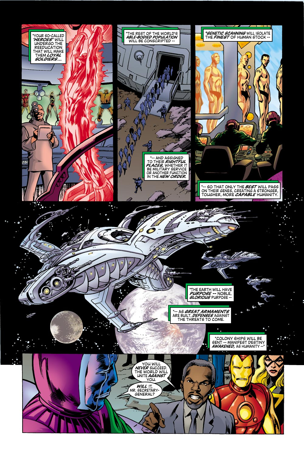 Read online Avengers (1998) comic -  Issue #42 - 15