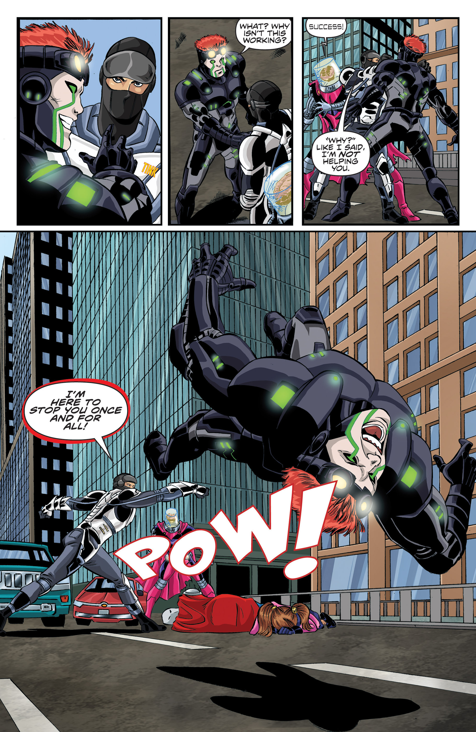 Read online Actionverse comic -  Issue #6 - 12