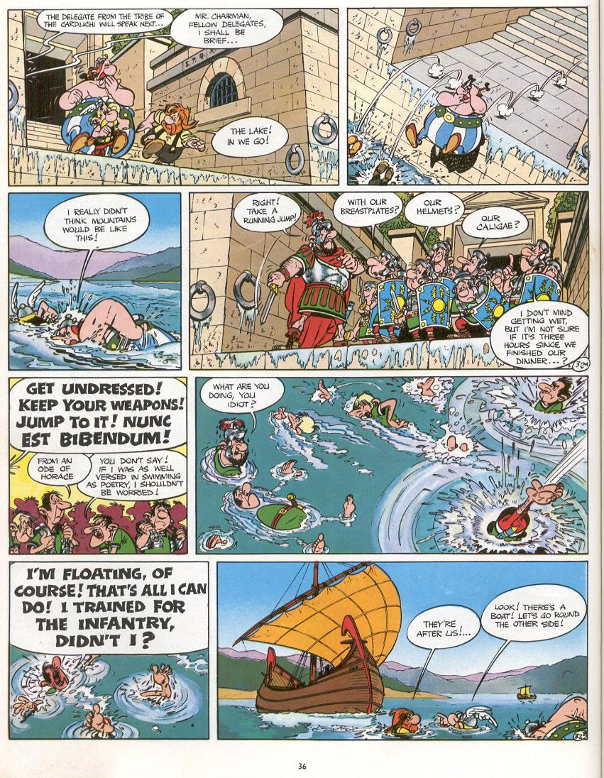 Read online Asterix comic -  Issue #16 - 33