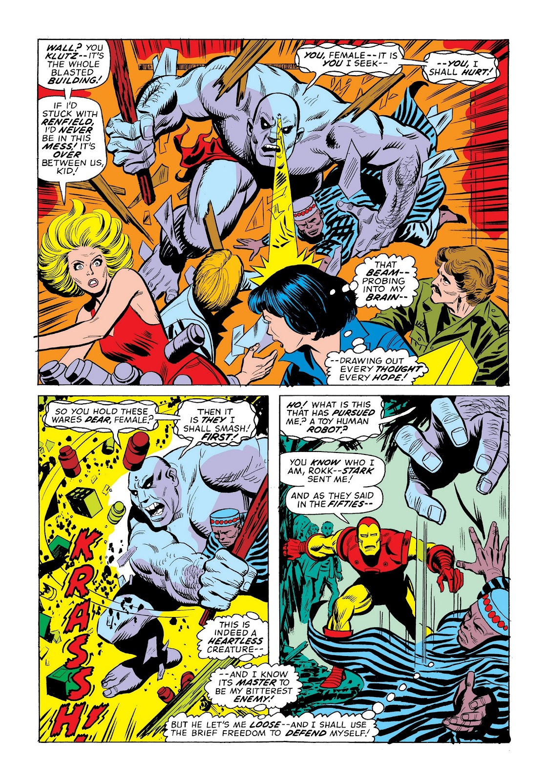 Read online Marvel Masterworks: The Invincible Iron Man comic -  Issue # TPB 9 (Part 3) - 28