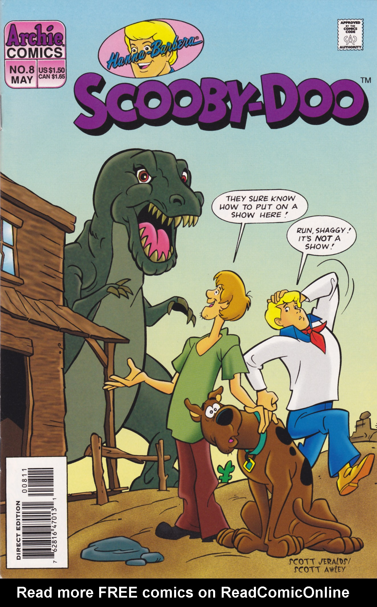 Read online Scooby-Doo (1995) comic -  Issue #8 - 1