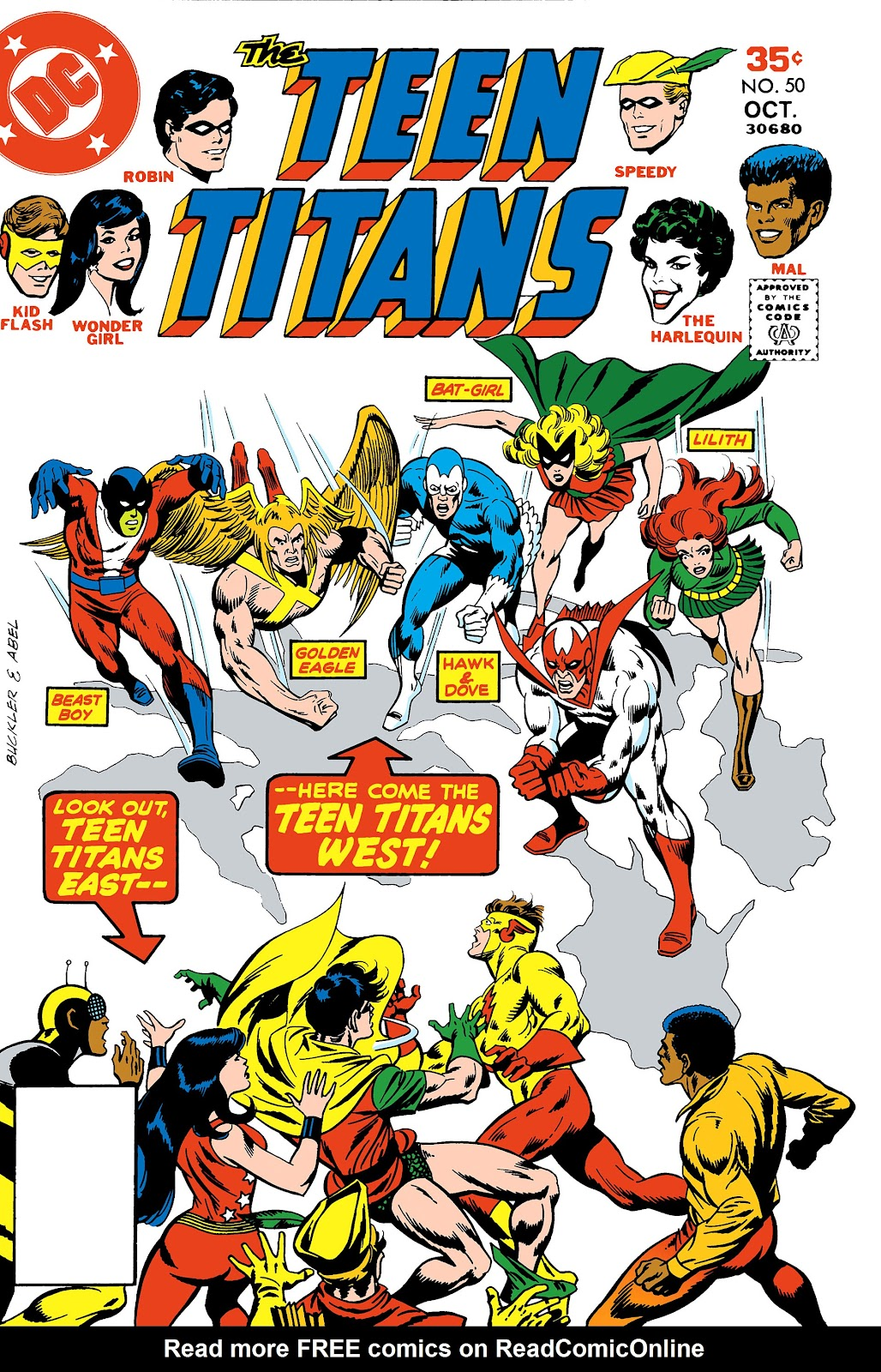Teen Titans (1966) issue 50 - Page 1