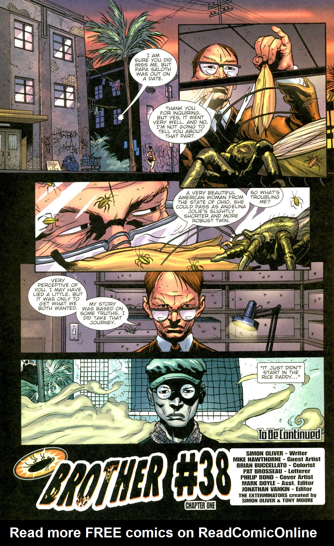 Read online The Exterminators comic -  Issue #11 - 22