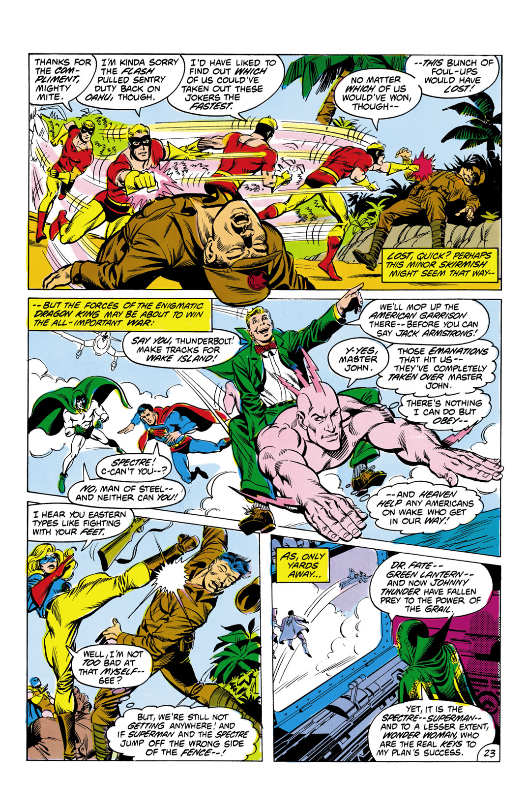 Read online All-Star Squadron comic -  Issue #4 - 24