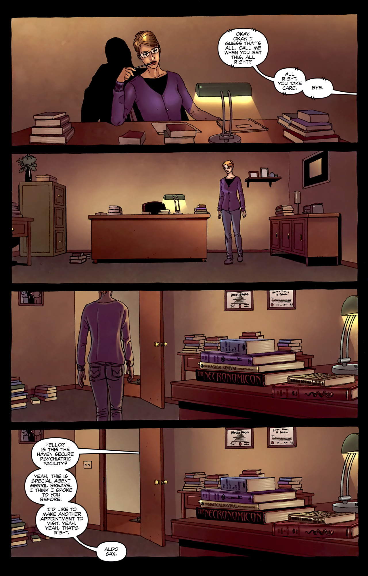 Read online Alan Moore's Neonomicon comic -  Issue #4 - 21