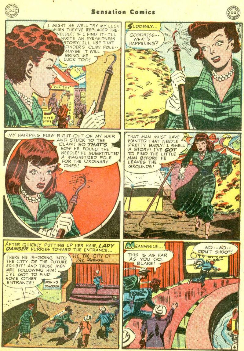Read online Sensation (Mystery) Comics comic -  Issue #87 - 43