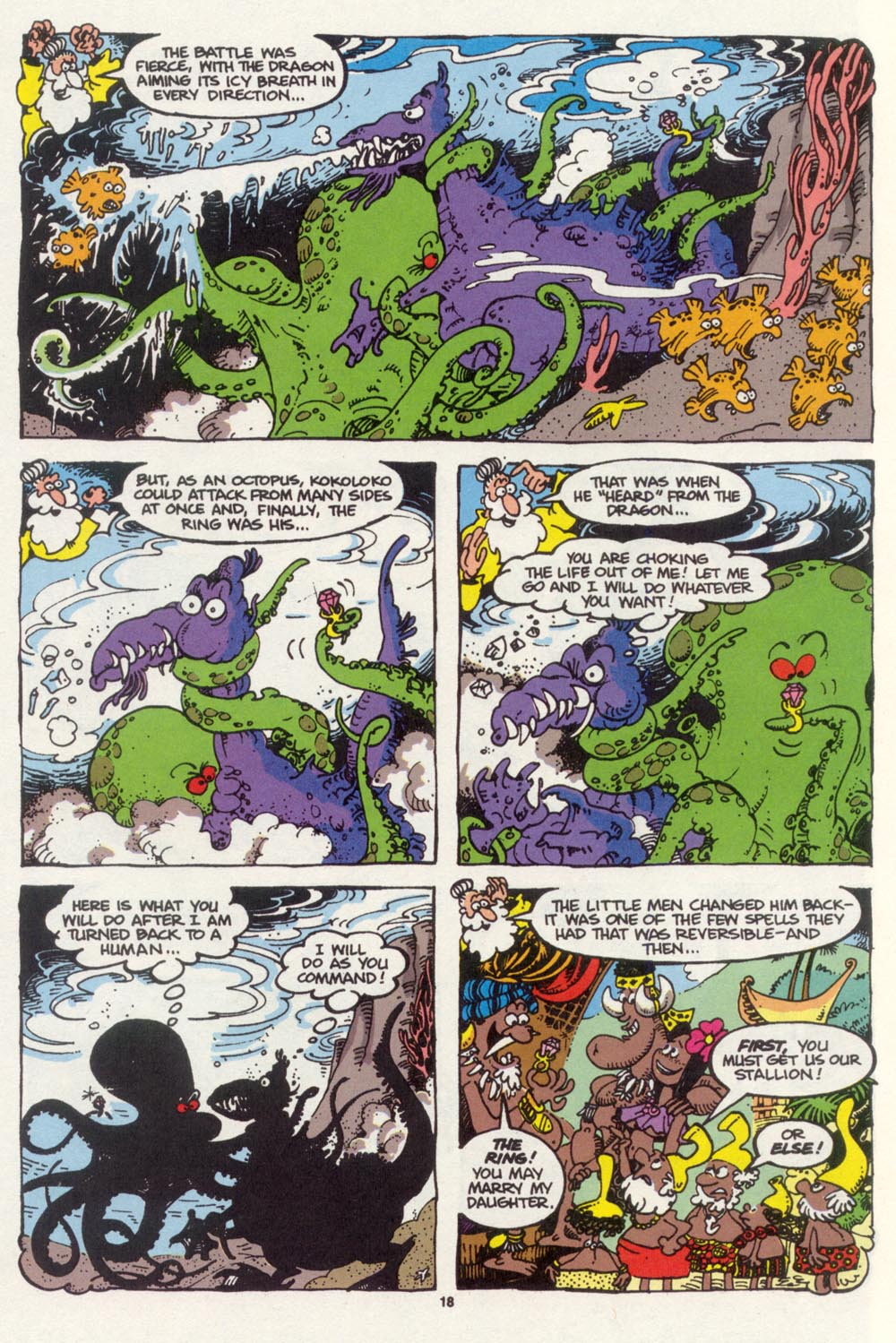 Read online Sergio Aragonés Groo the Wanderer comic -  Issue #98 - 19