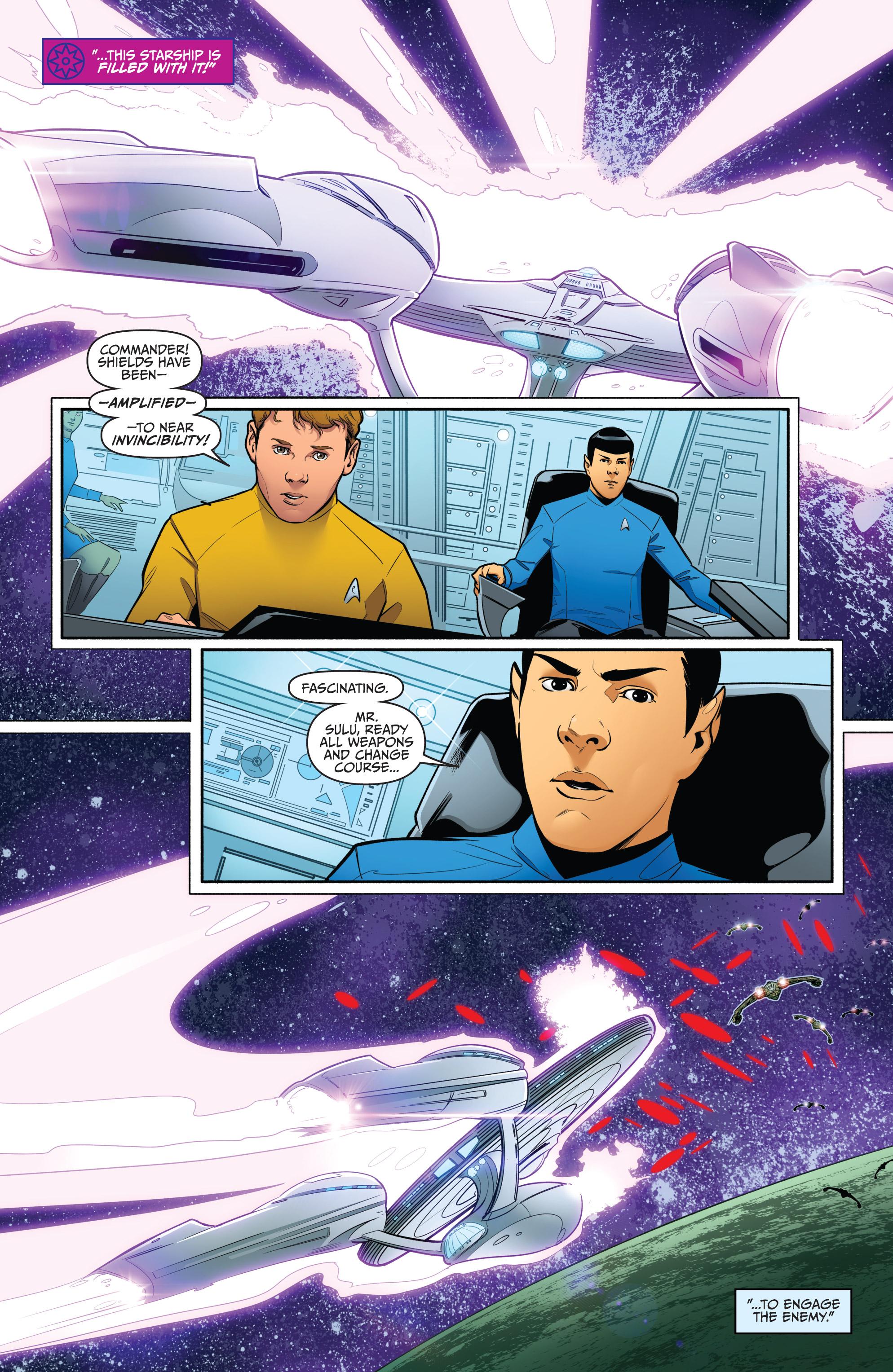 Read online Star Trek/Green Lantern (2016) comic -  Issue #6 - 10