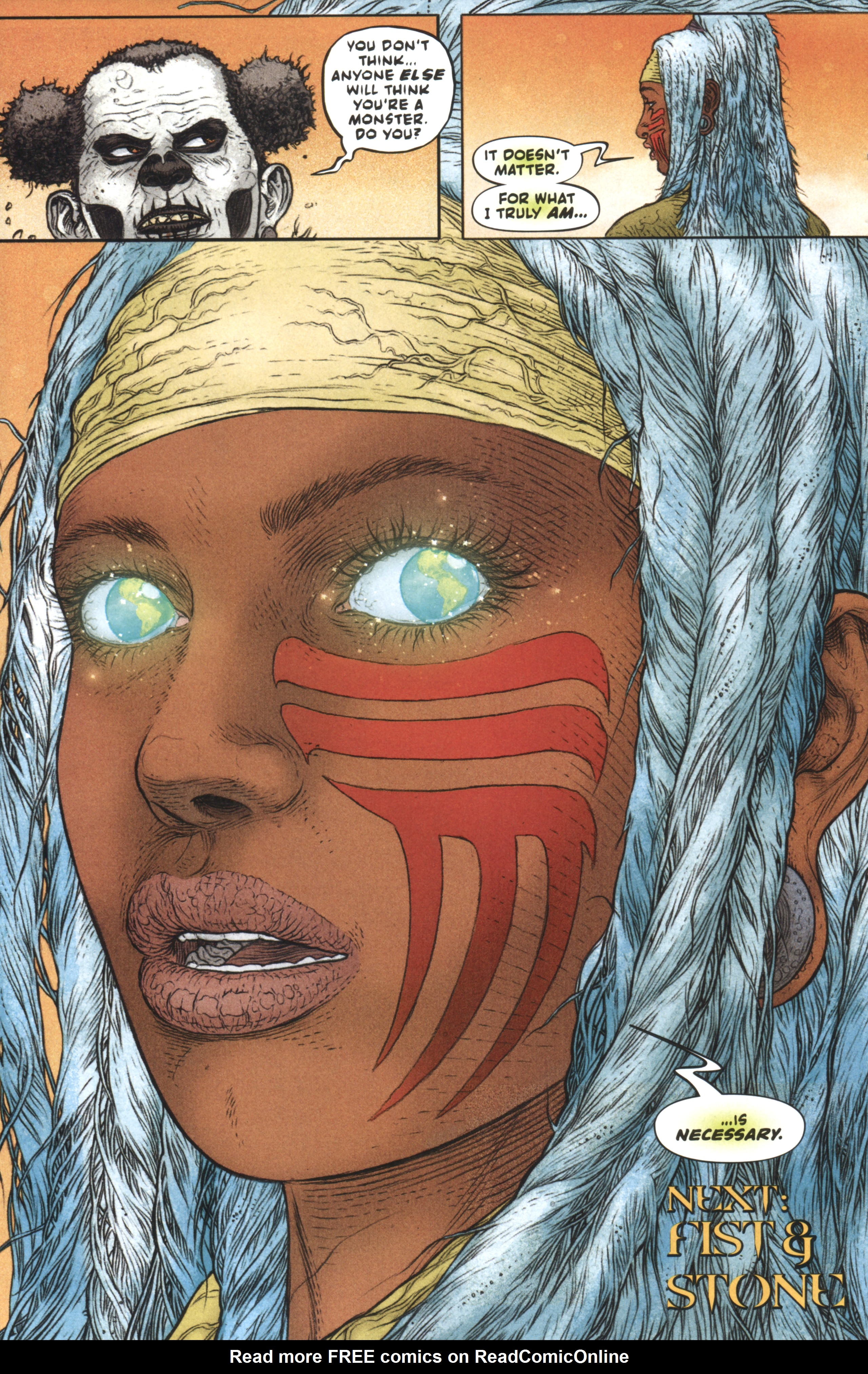 Read online Book of Death: Legends of the Geomancer comic -  Issue #3 - 17