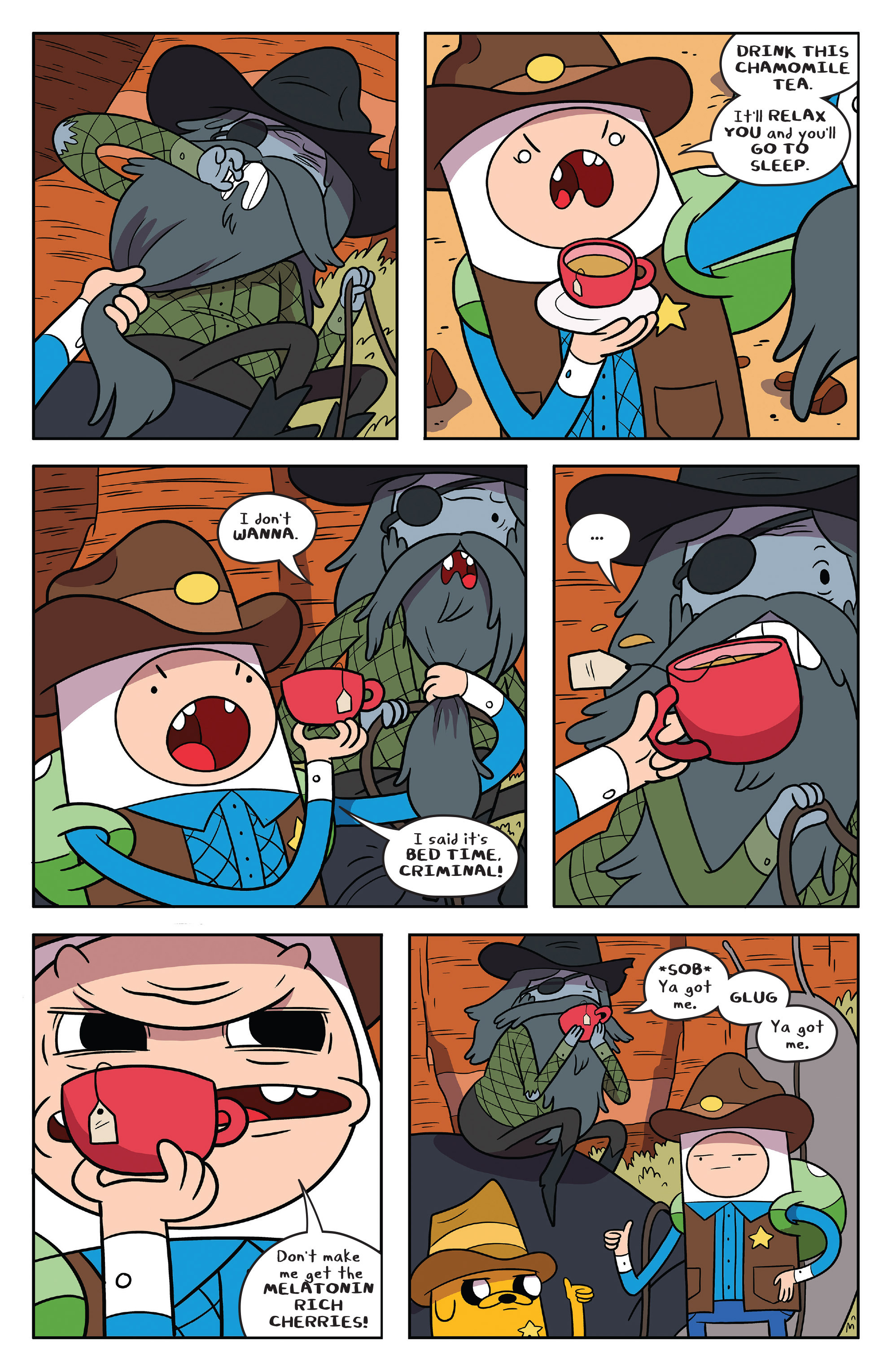 Read online Adventure Time comic -  Issue #54 - 5