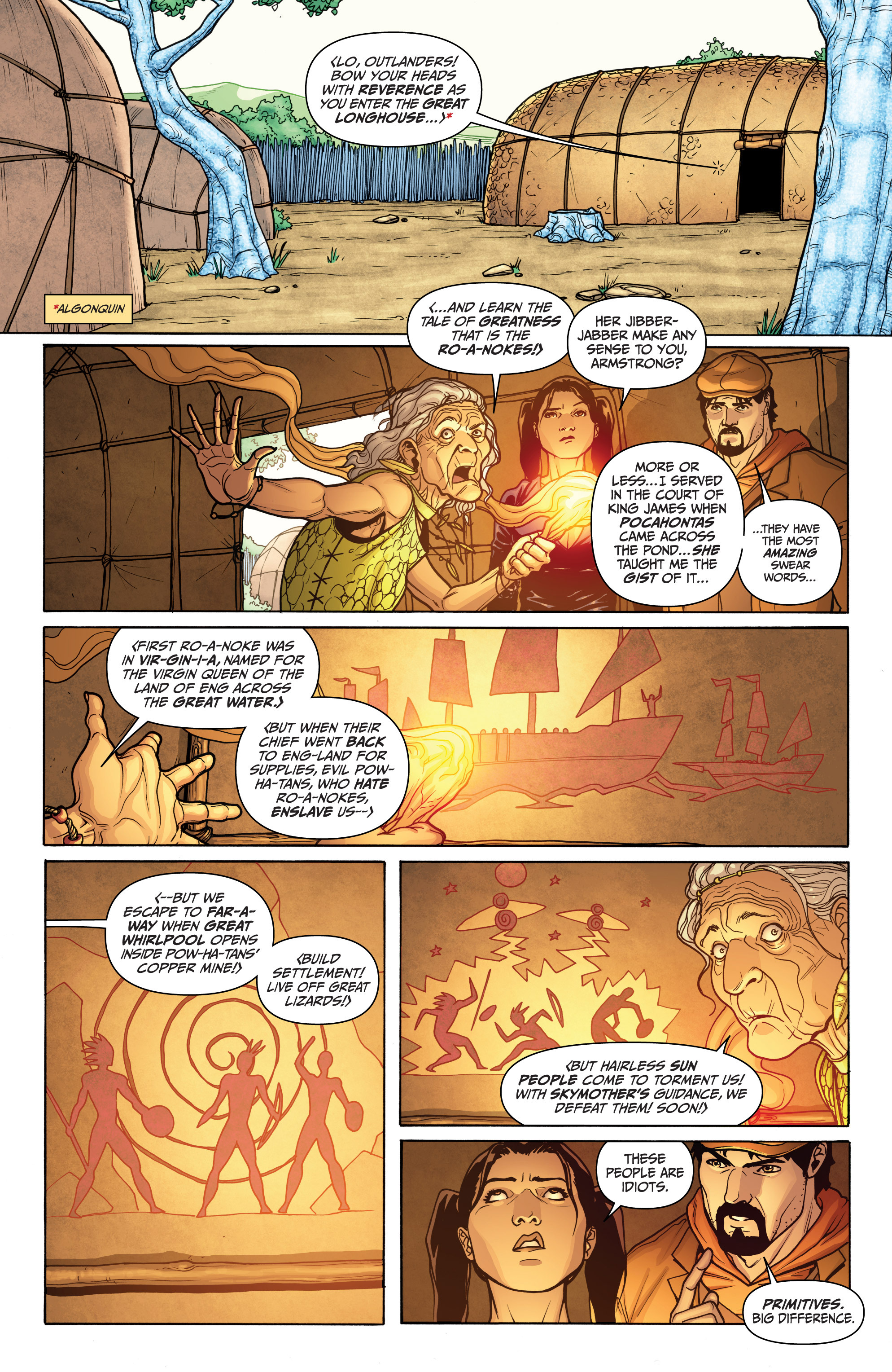 Read online Archer and Armstrong comic -  Issue #12 - 5