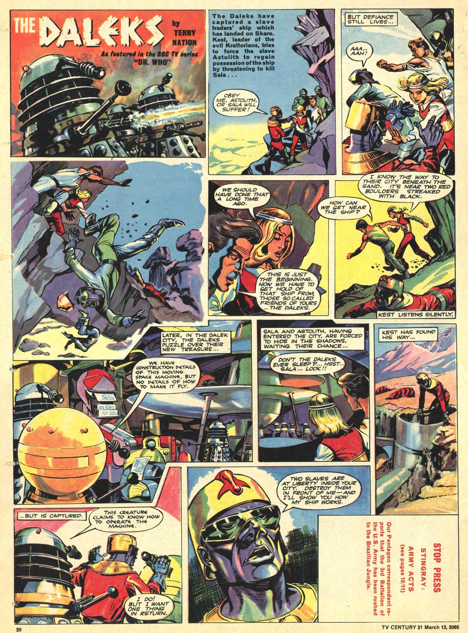 Read online TV Century 21 (TV 21) comic -  Issue #8 - 19