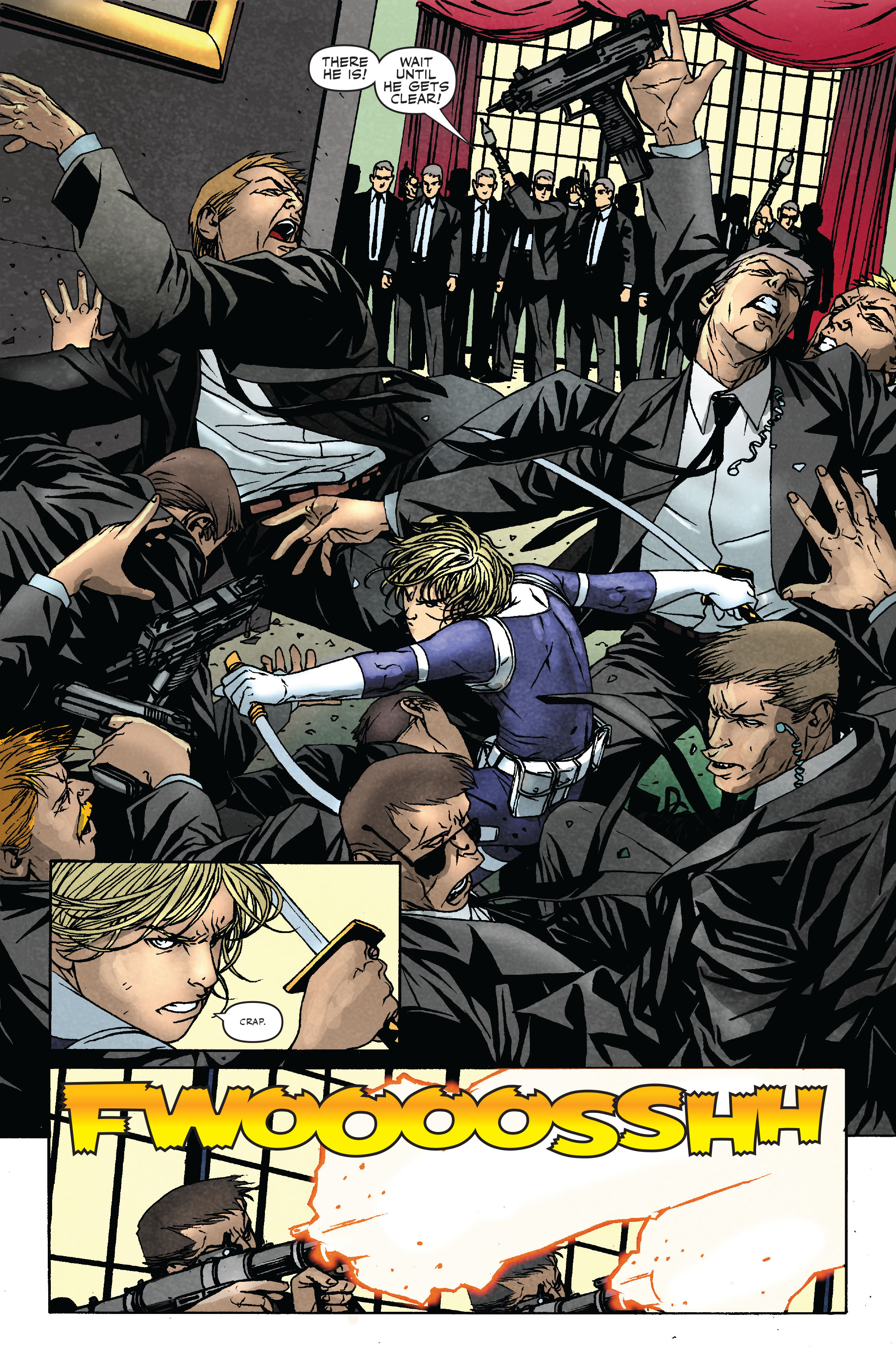 Read online Siege: Secret Warriors comic -  Issue # Full - 19