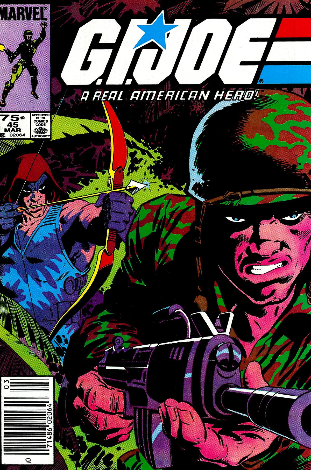 G.I. Joe: A Real American Hero 45 Page 1