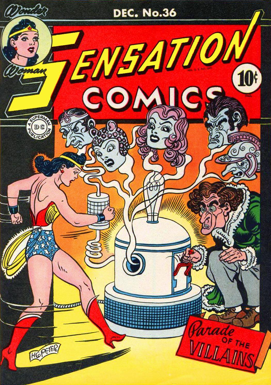 Read online Sensation (Mystery) Comics comic -  Issue #36 - 1