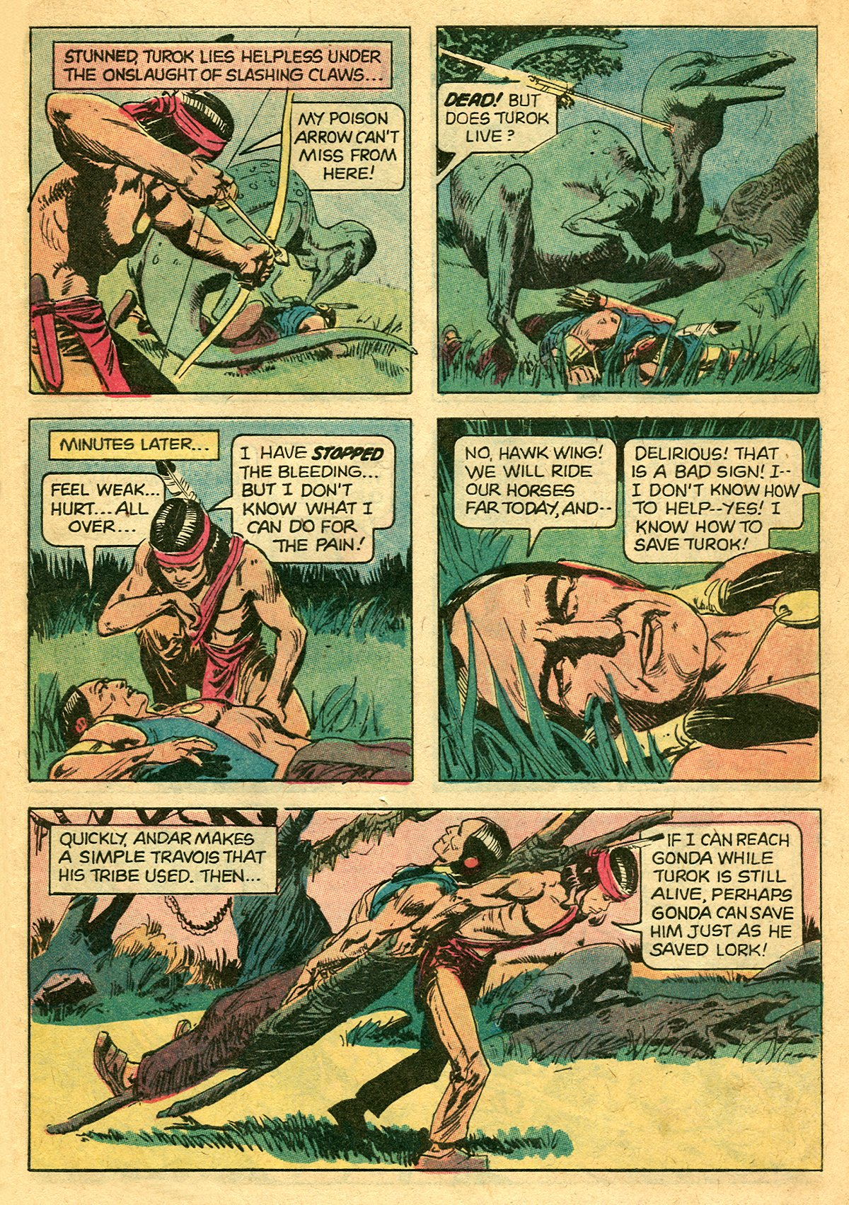 Read online Turok, Son of Stone comic -  Issue #127 - 9