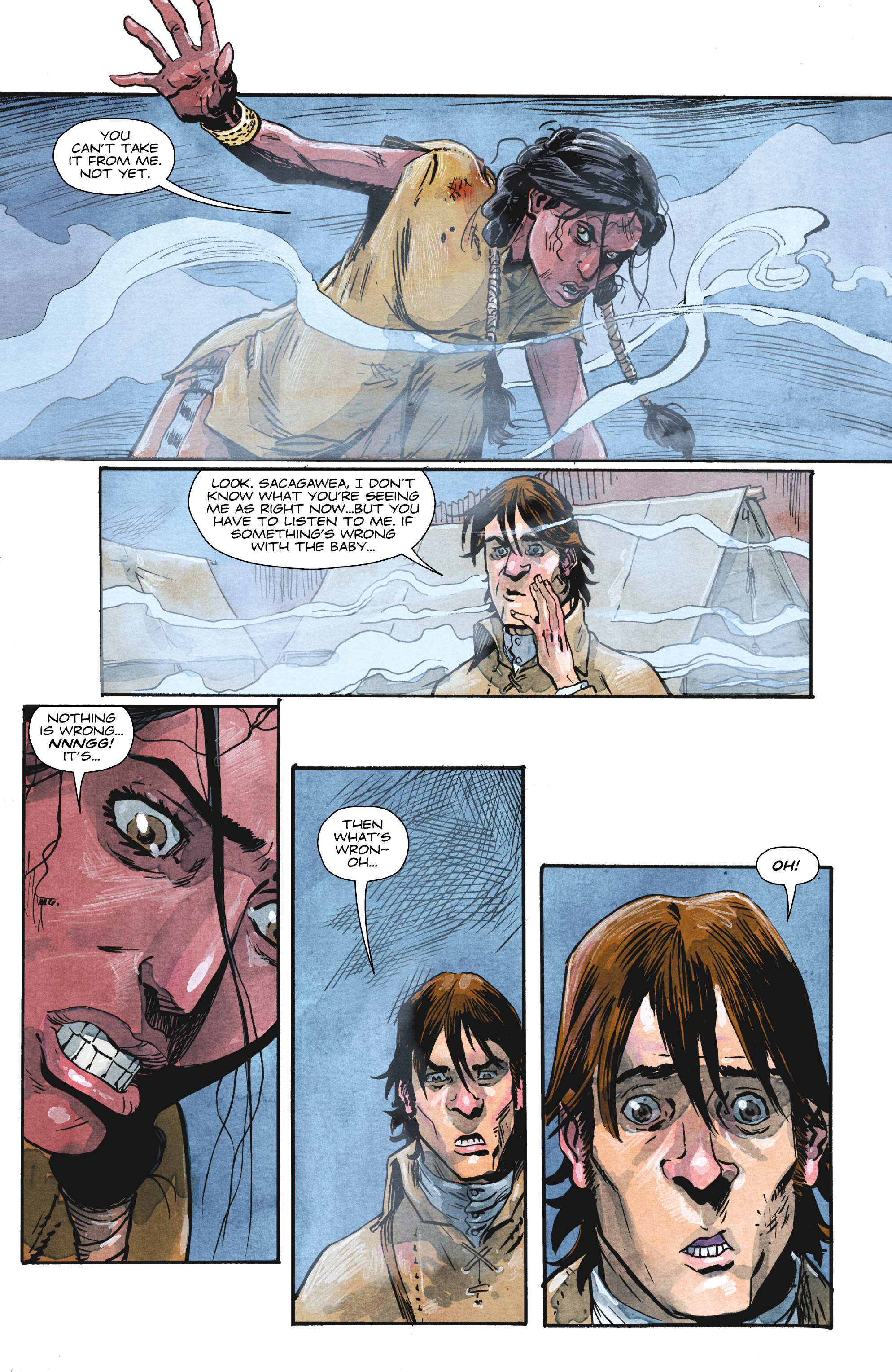Read online Manifest Destiny comic -  Issue #29 - 21