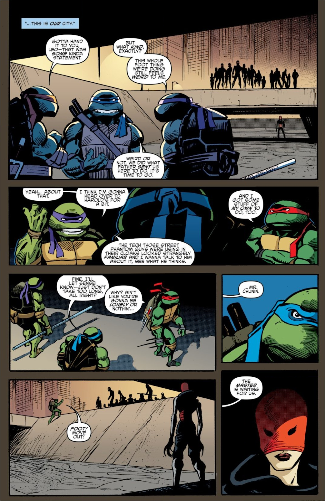 Read online Teenage Mutant Ninja Turtles: The IDW Collection comic -  Issue # TPB 7 (Part 1) - 14