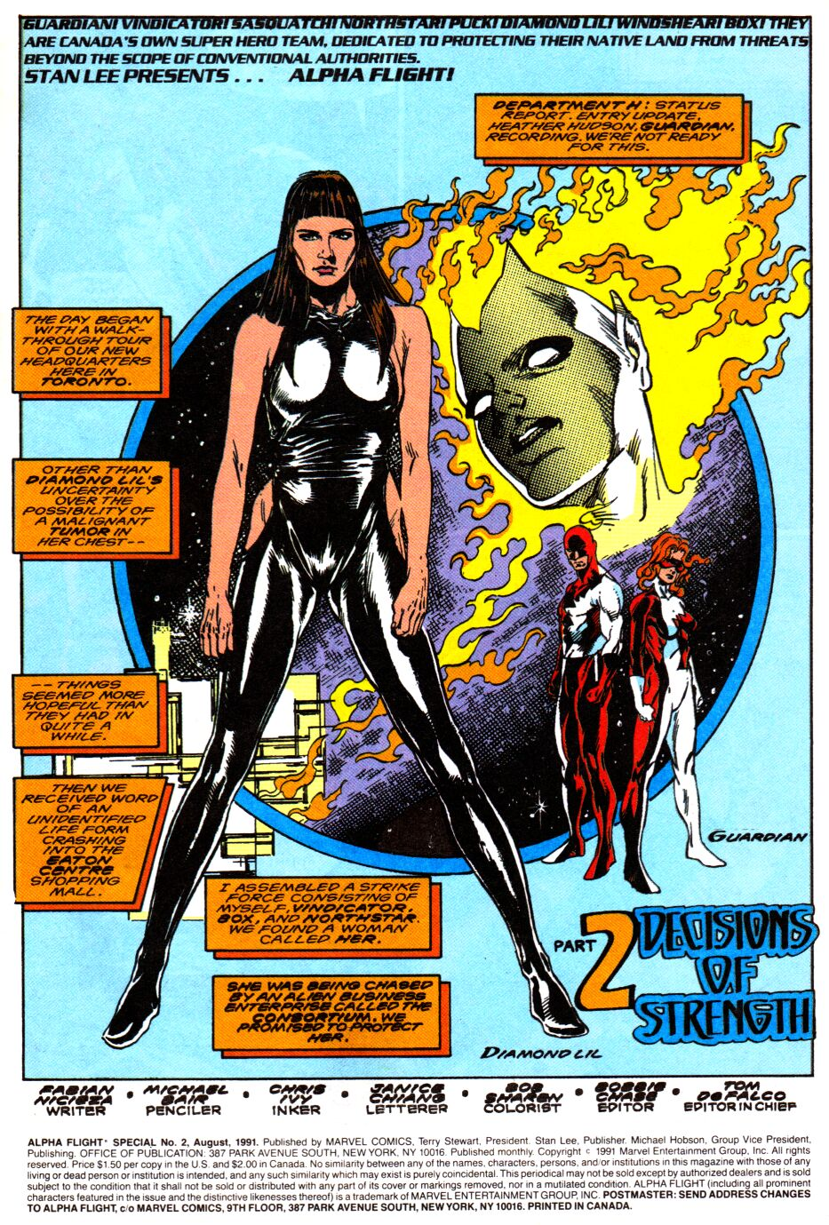 Read online Alpha Flight Special comic -  Issue #2 - 2