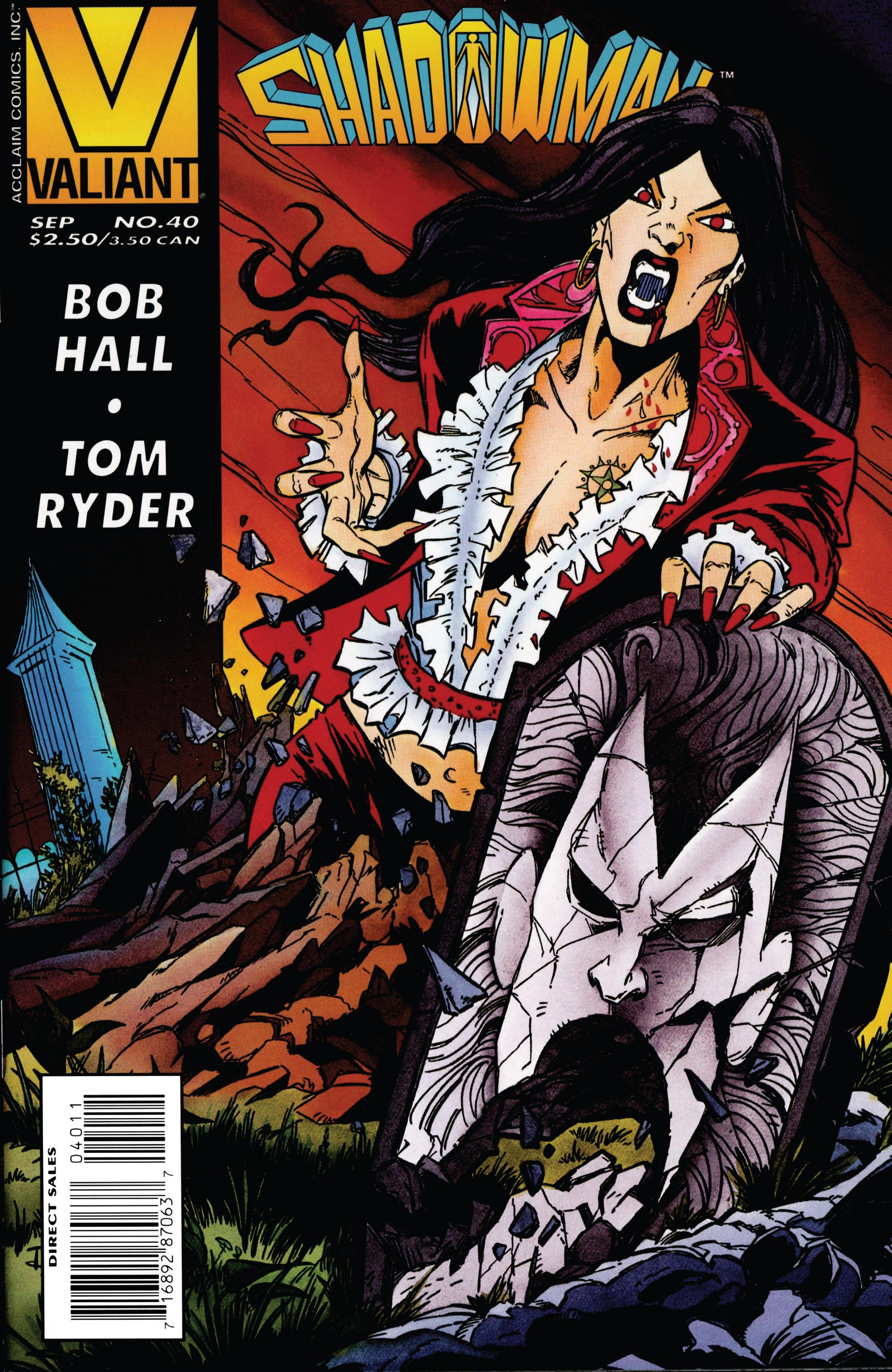 Read online Shadowman (1992) comic -  Issue #40 - 1