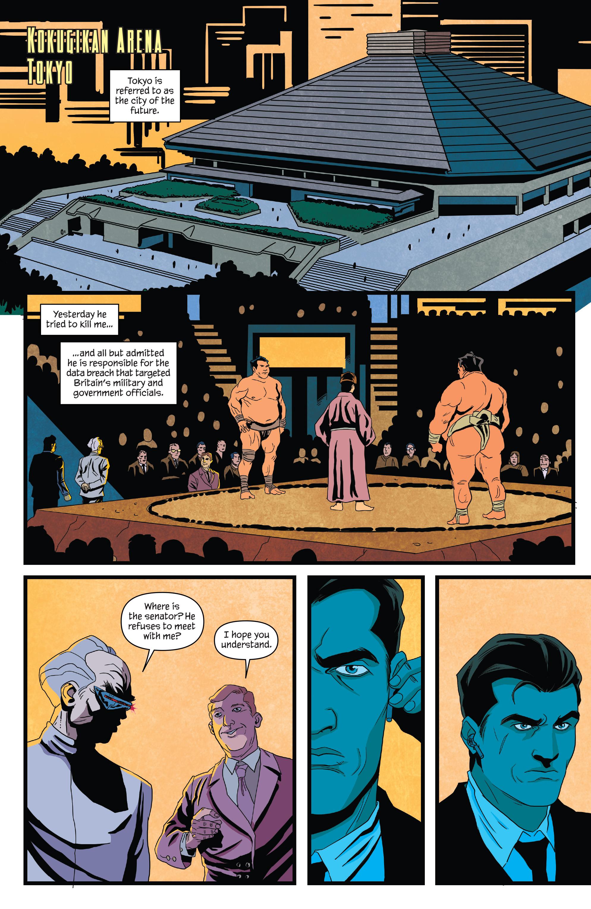 Read online James Bond (2017) comic -  Issue #3 - 10