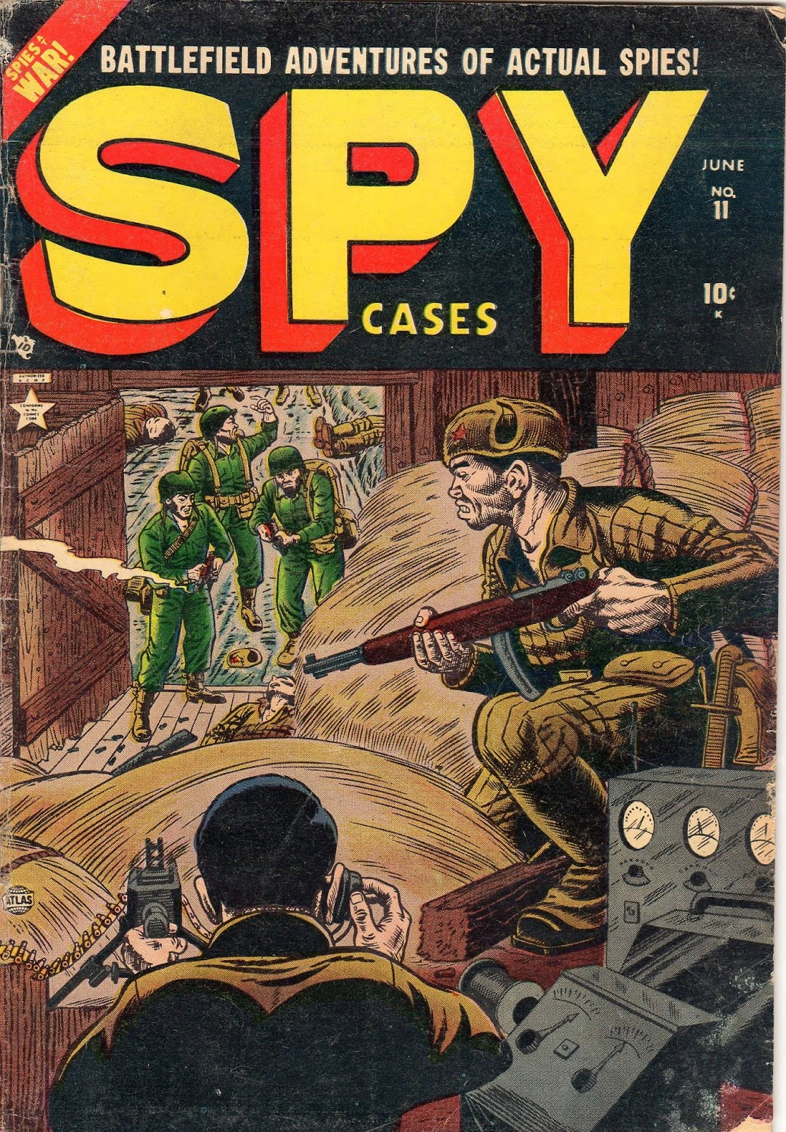 Spy Cases issue 11 - Page 1