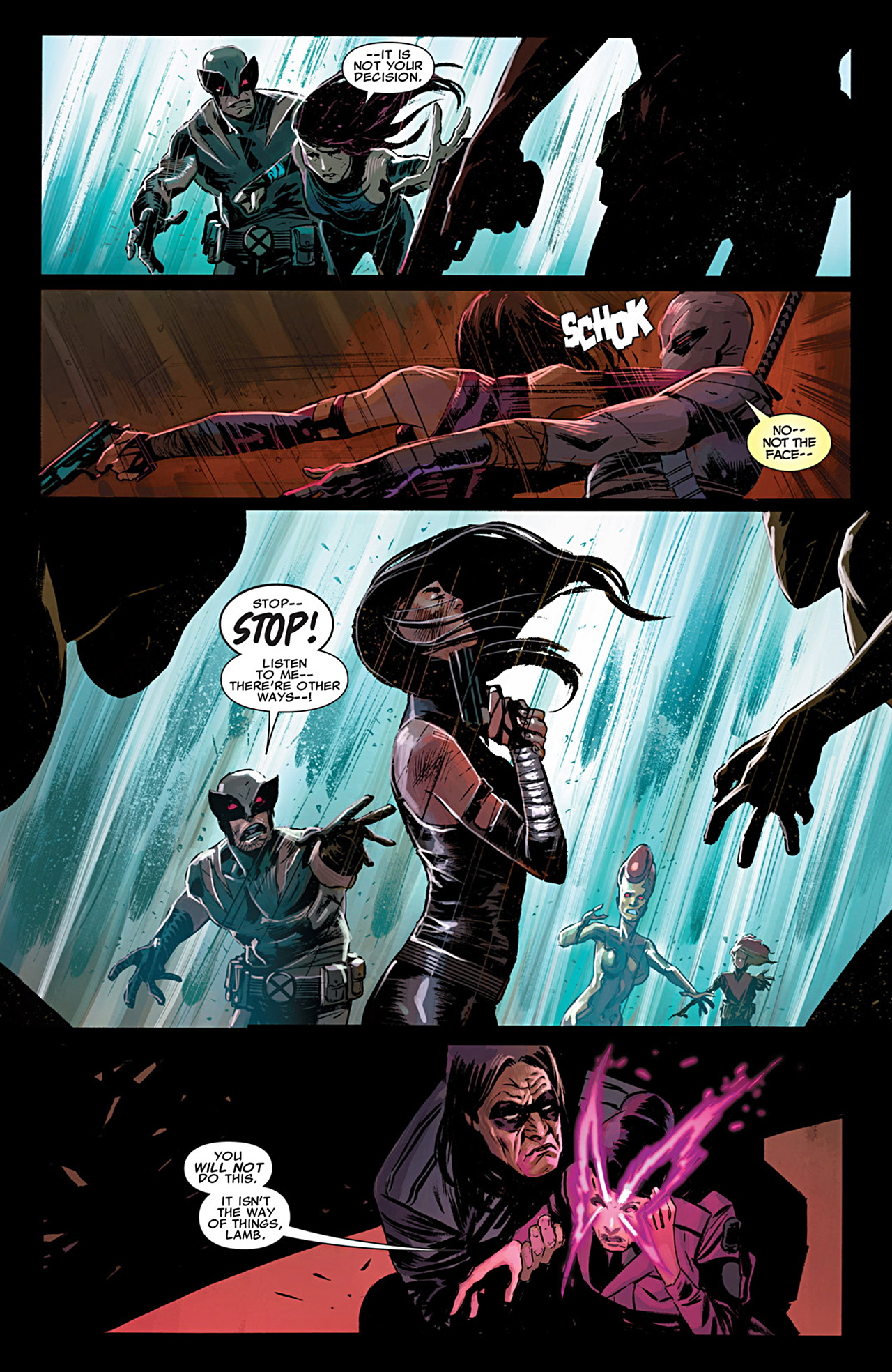 Read online Uncanny X-Force (2010) comic -  Issue #29 - 10