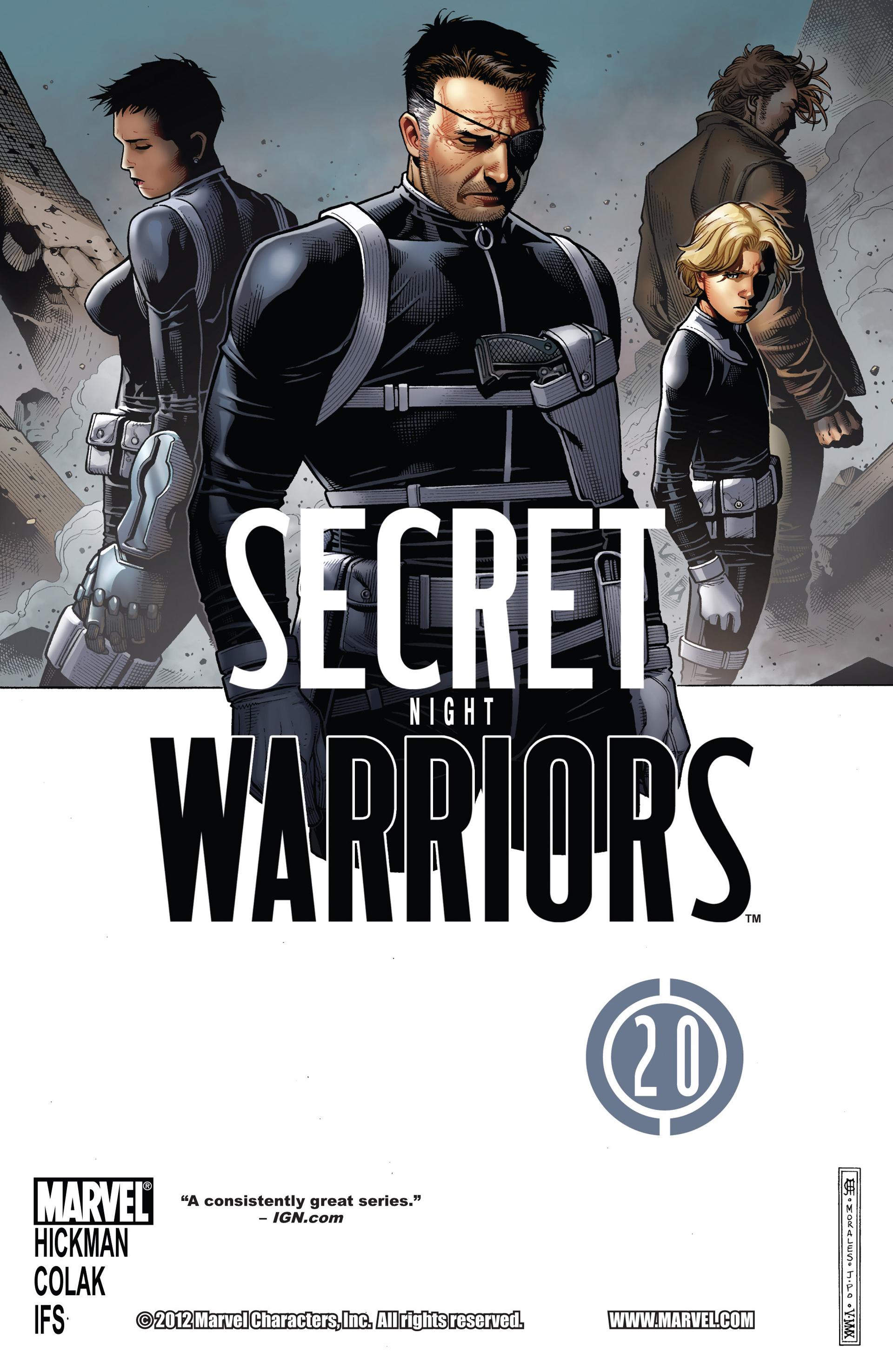 Read online Secret Warriors comic -  Issue #20 - 2