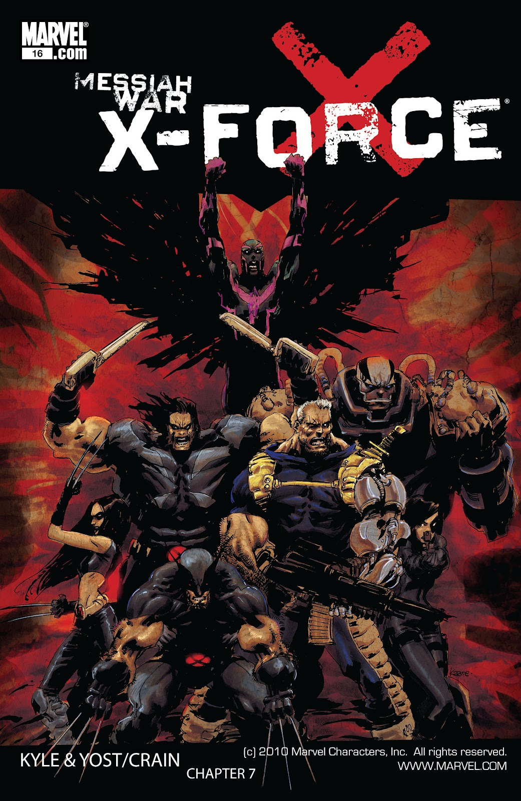 Read online X-Force/Cable: Messiah War comic -  Issue # _TPB (Part 2) - 118