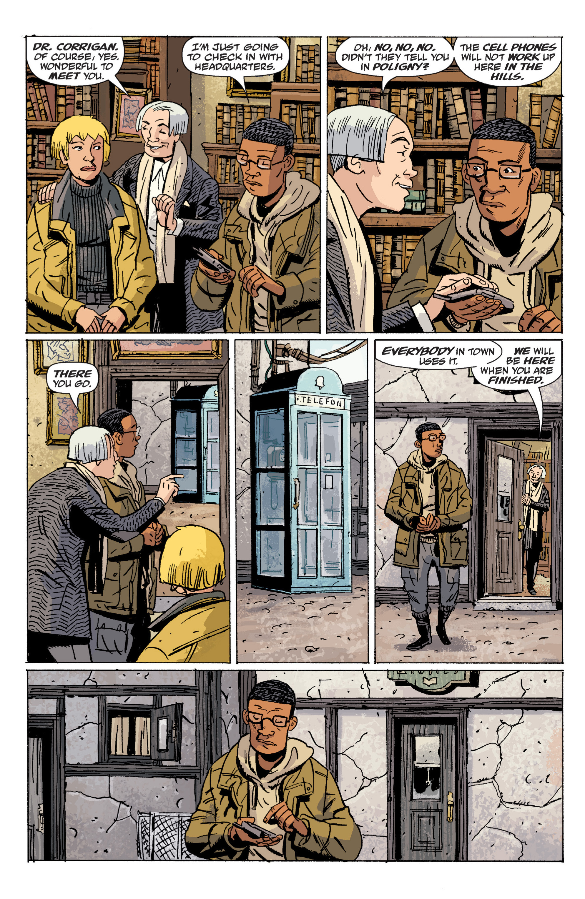 Read online B.P.R.D. (2003) comic -  Issue # TPB 6 - 21