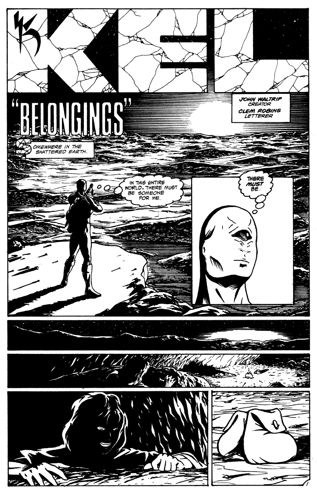 Shattered Earth issue 2 - Page 12